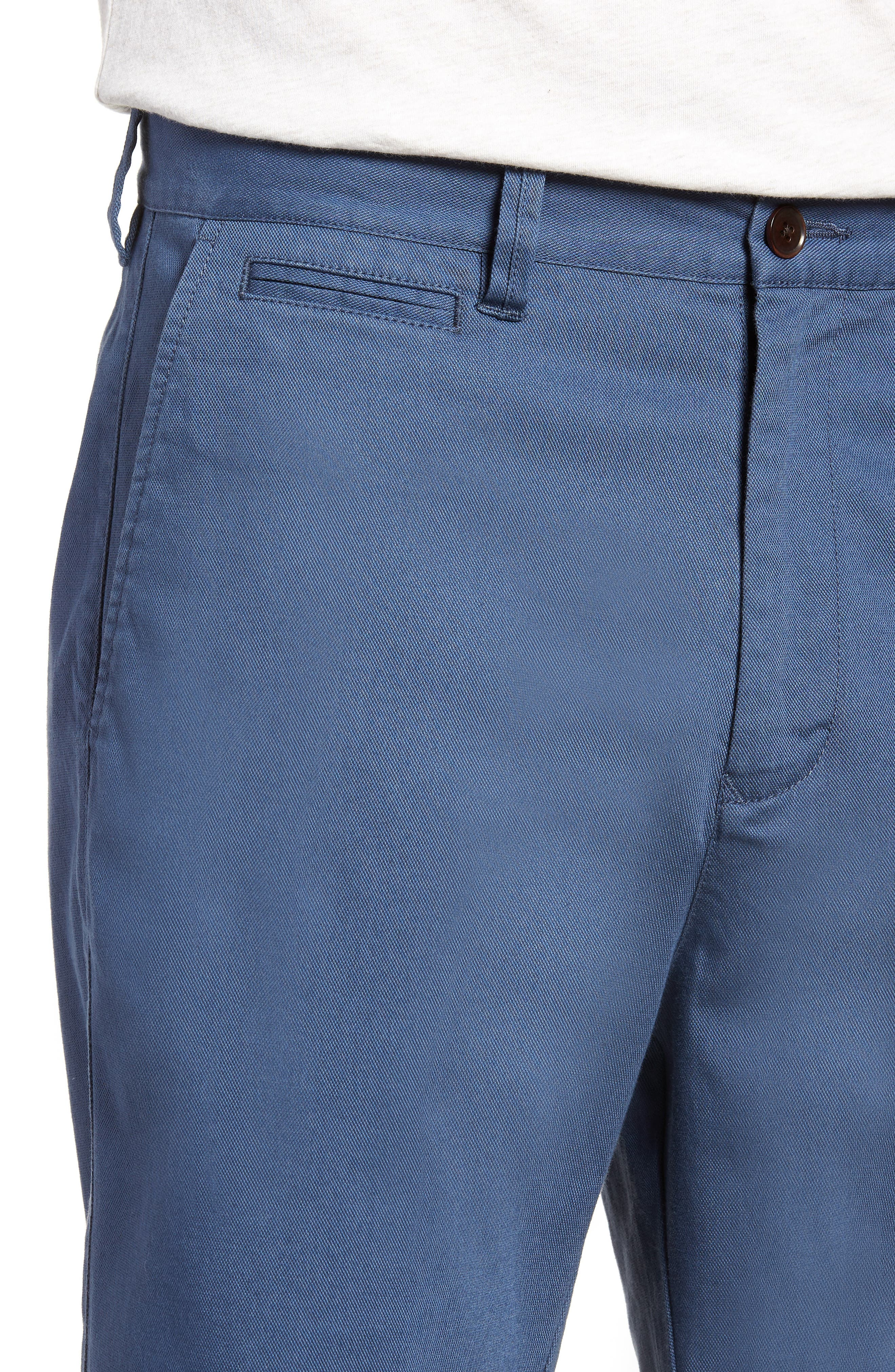 Driving Creek Regular Fit Flat Front Shorts,                             Alternate thumbnail 4, color,                             020