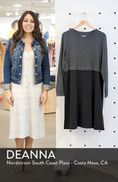 Stretch Tencel<sup>®</sup> A-Line Dress, sales video thumbnail