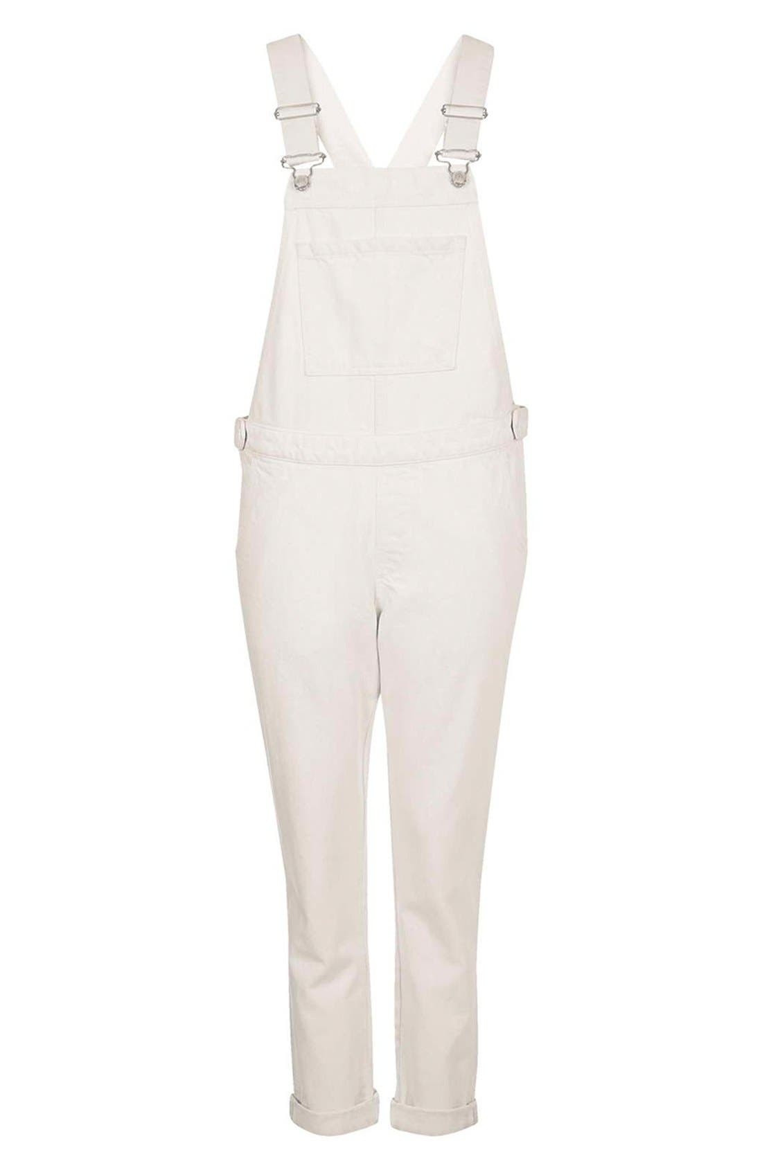 Moto Straight Leg Overalls,                             Alternate thumbnail 2, color,                             900