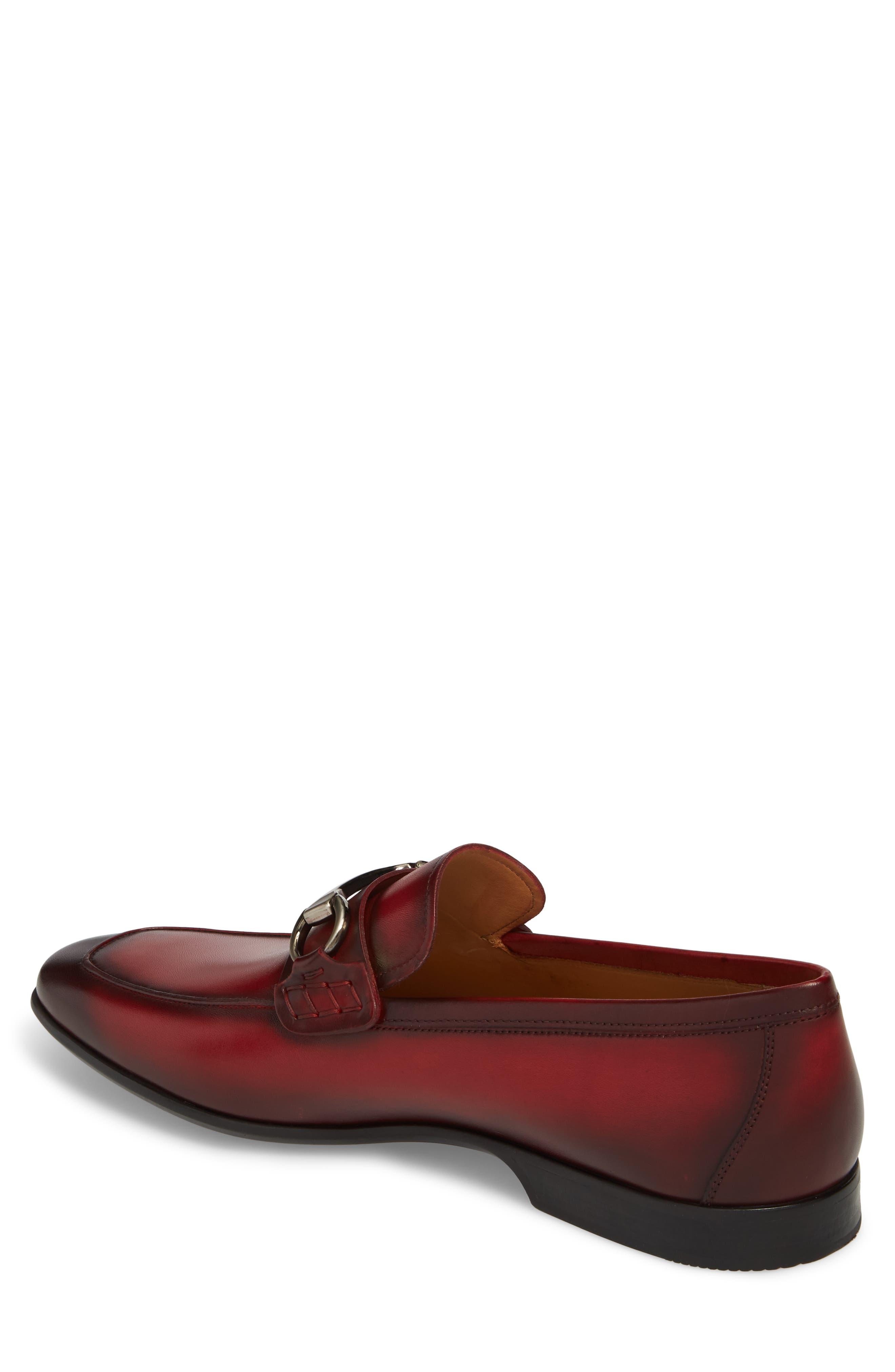 'Rafa II' Bit Loafer,                             Alternate thumbnail 8, color,