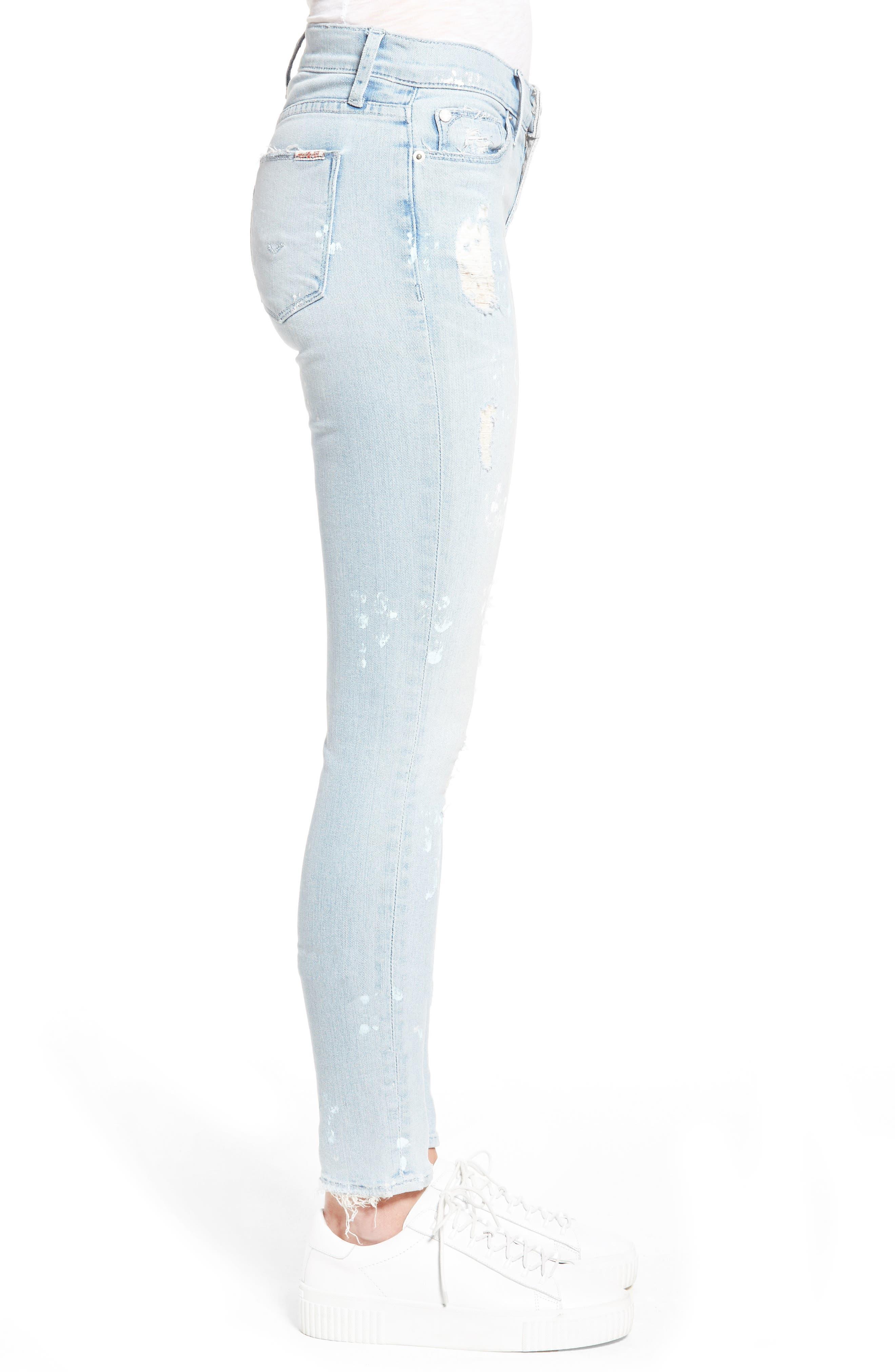Hudson Nico Ankle Skinny Jeans,                             Alternate thumbnail 6, color,