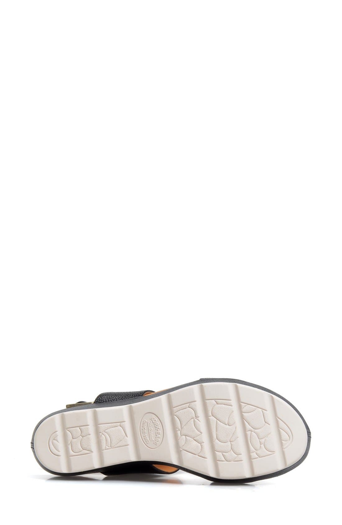 'Khloe' Platform Wedge Sandal,                             Alternate thumbnail 16, color,