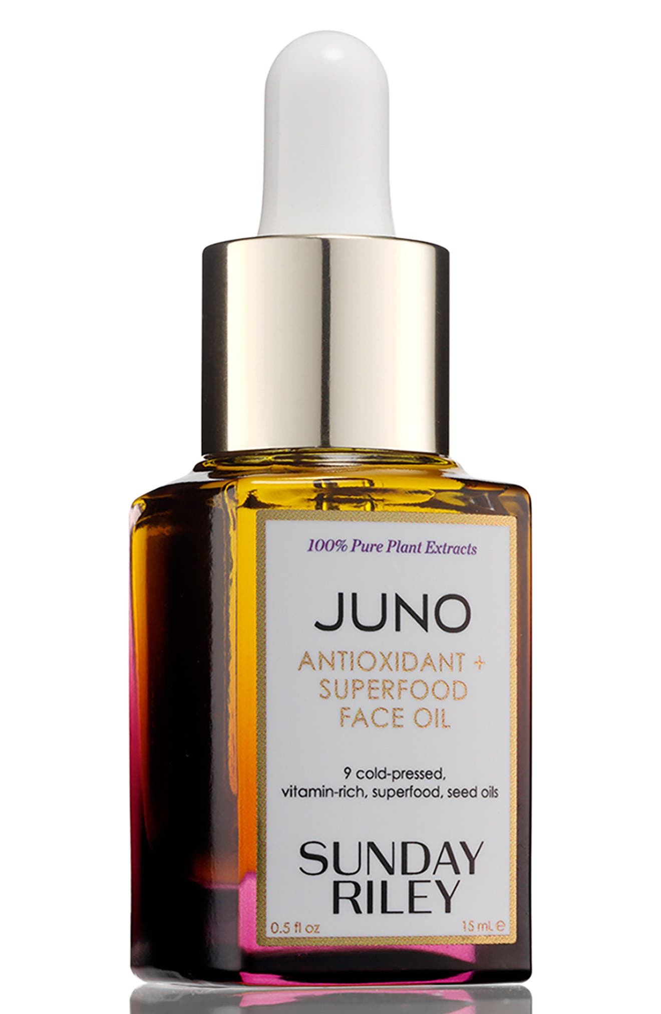 SPACE.NK.apothecary Sunday Riley Juno Essential Face Oil,                             Alternate thumbnail 3, color,                             NO COLOR