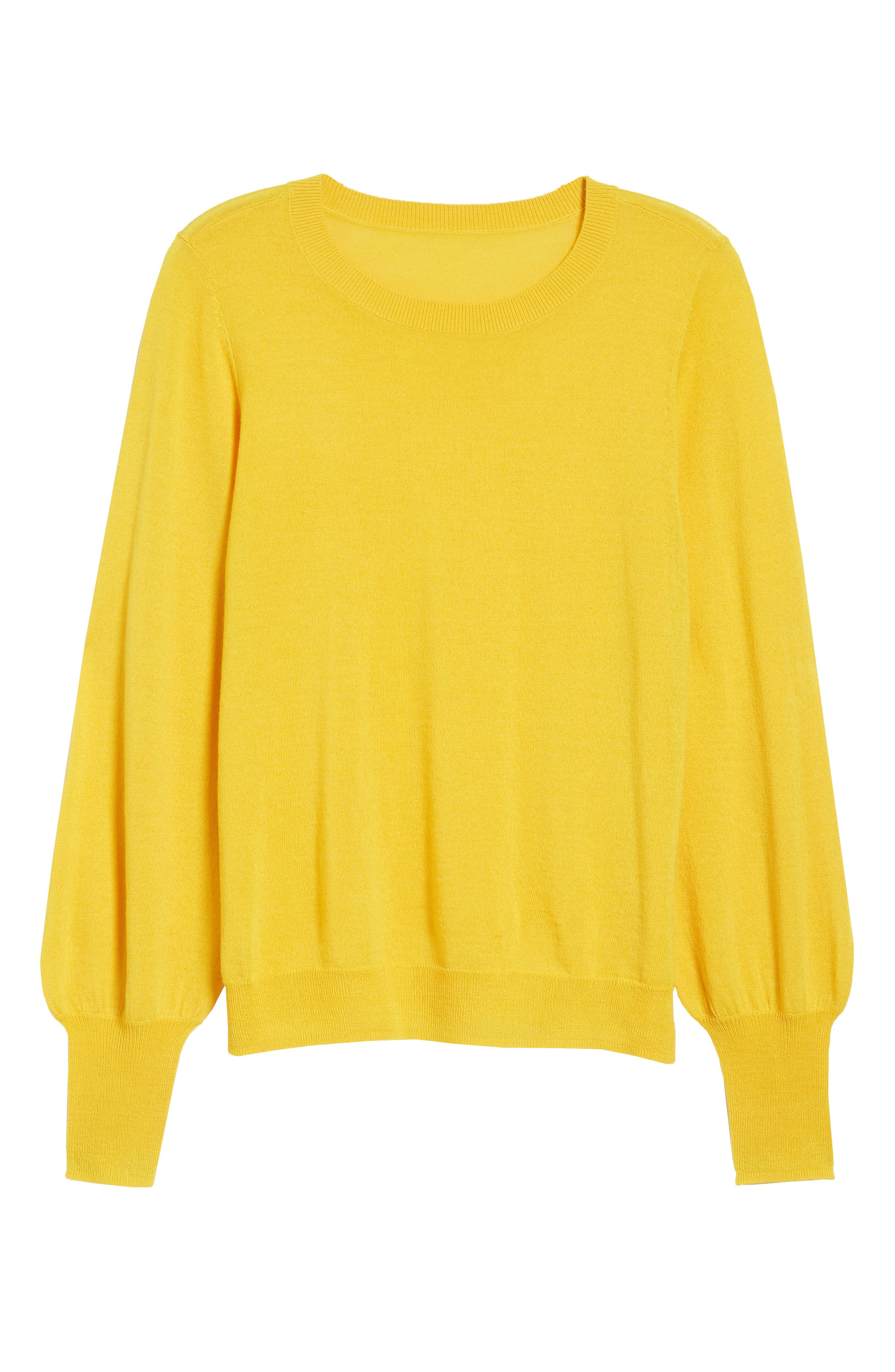 Puff Sleeve Sweater,                             Alternate thumbnail 60, color,