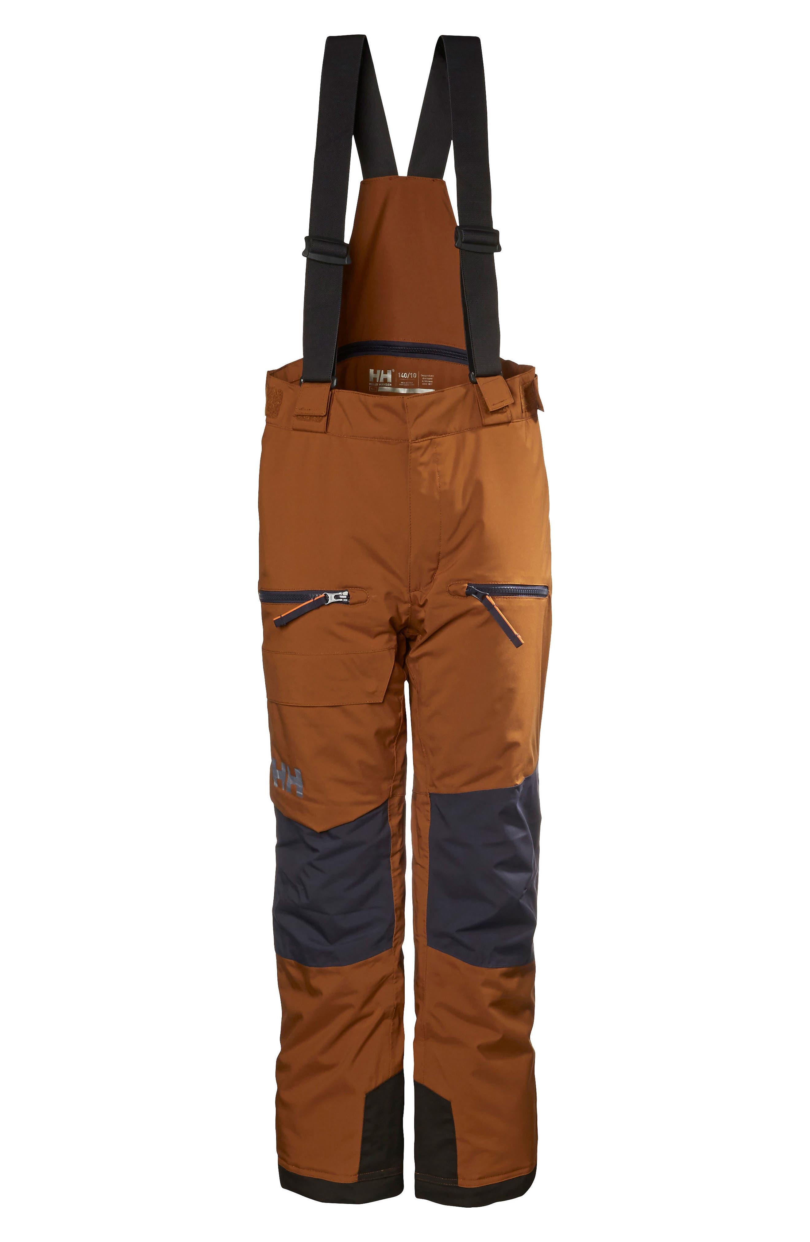 Jr. Powder Waterproof Ski Pants,                         Main,                         color, 201