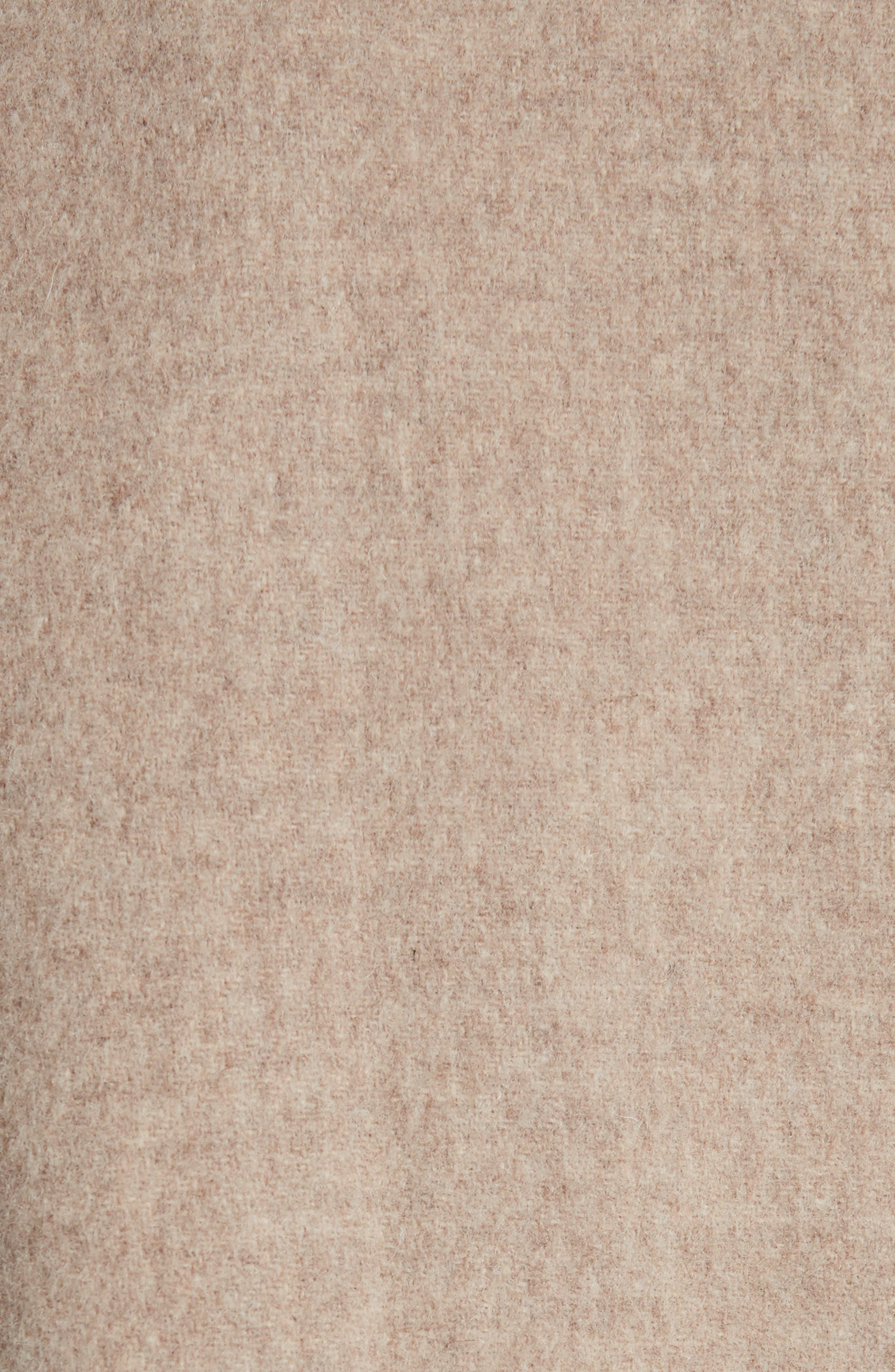 Kate Oversize Belted Coat,                             Alternate thumbnail 6, color,                             260