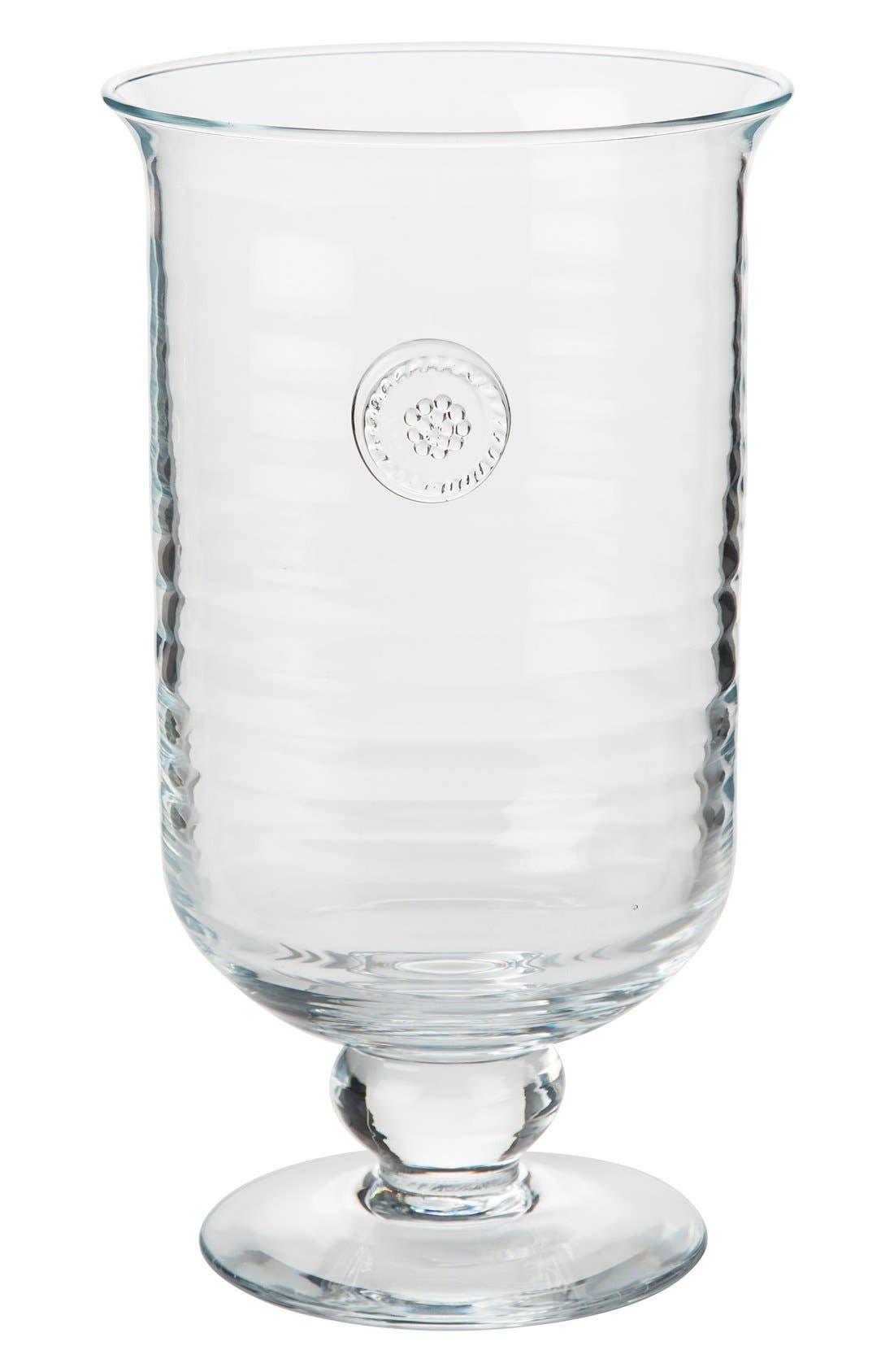 Berry & Thread Medium Hurricane Candleholder,                             Main thumbnail 1, color,                             CLEAR