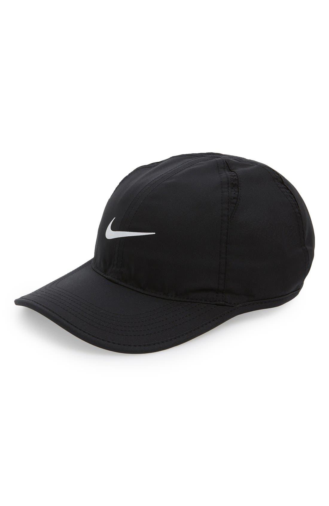 'Featherlight' Baseball Cap,                         Main,                         color, 010