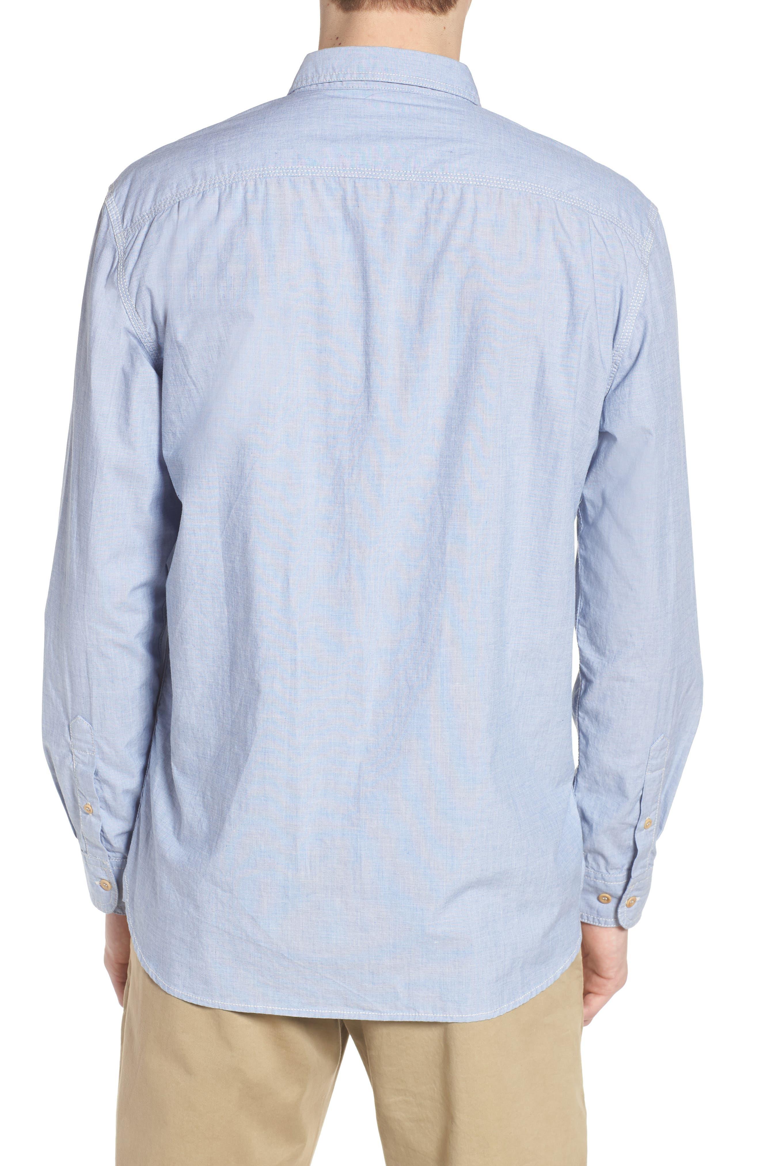 Regular Fit Solid Sport Shirt,                             Alternate thumbnail 2, color,