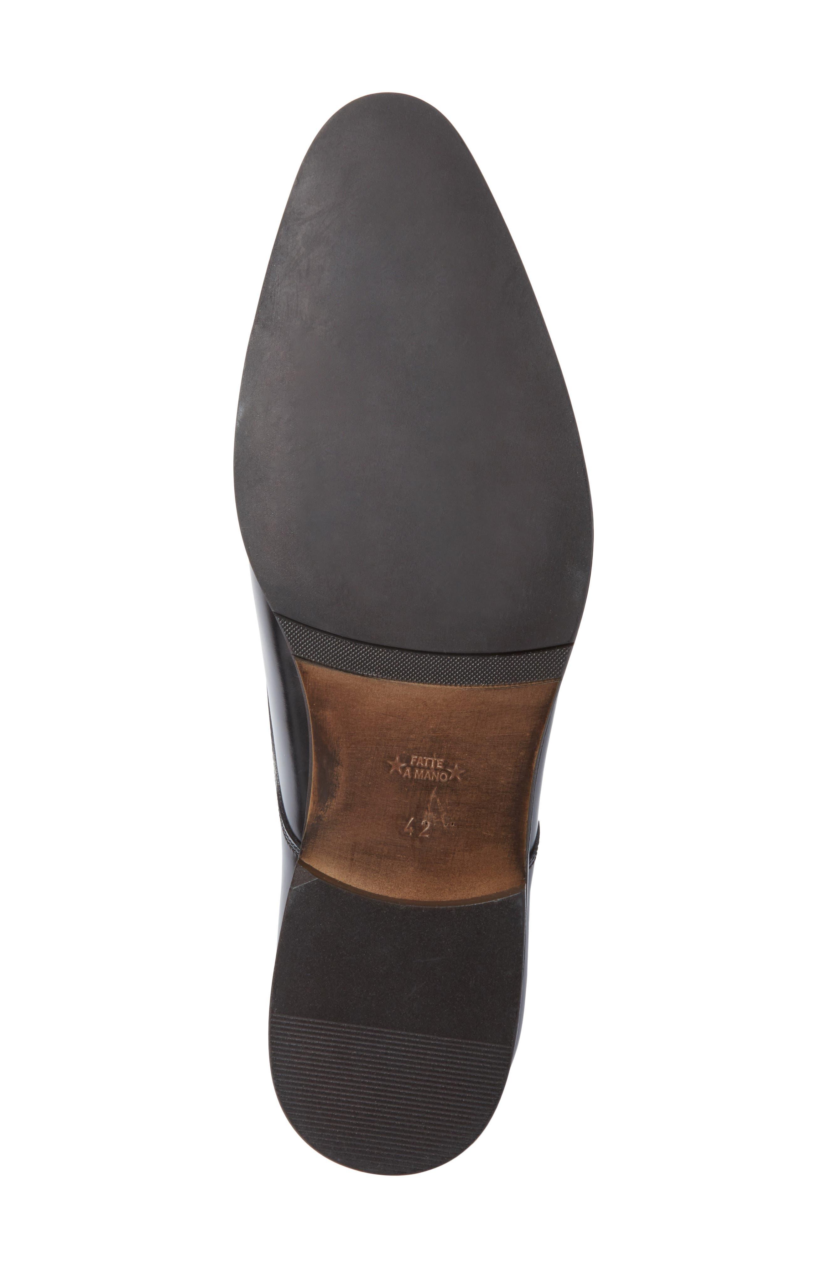 Webster Single Strap Monk Shoe,                             Alternate thumbnail 6, color,                             001