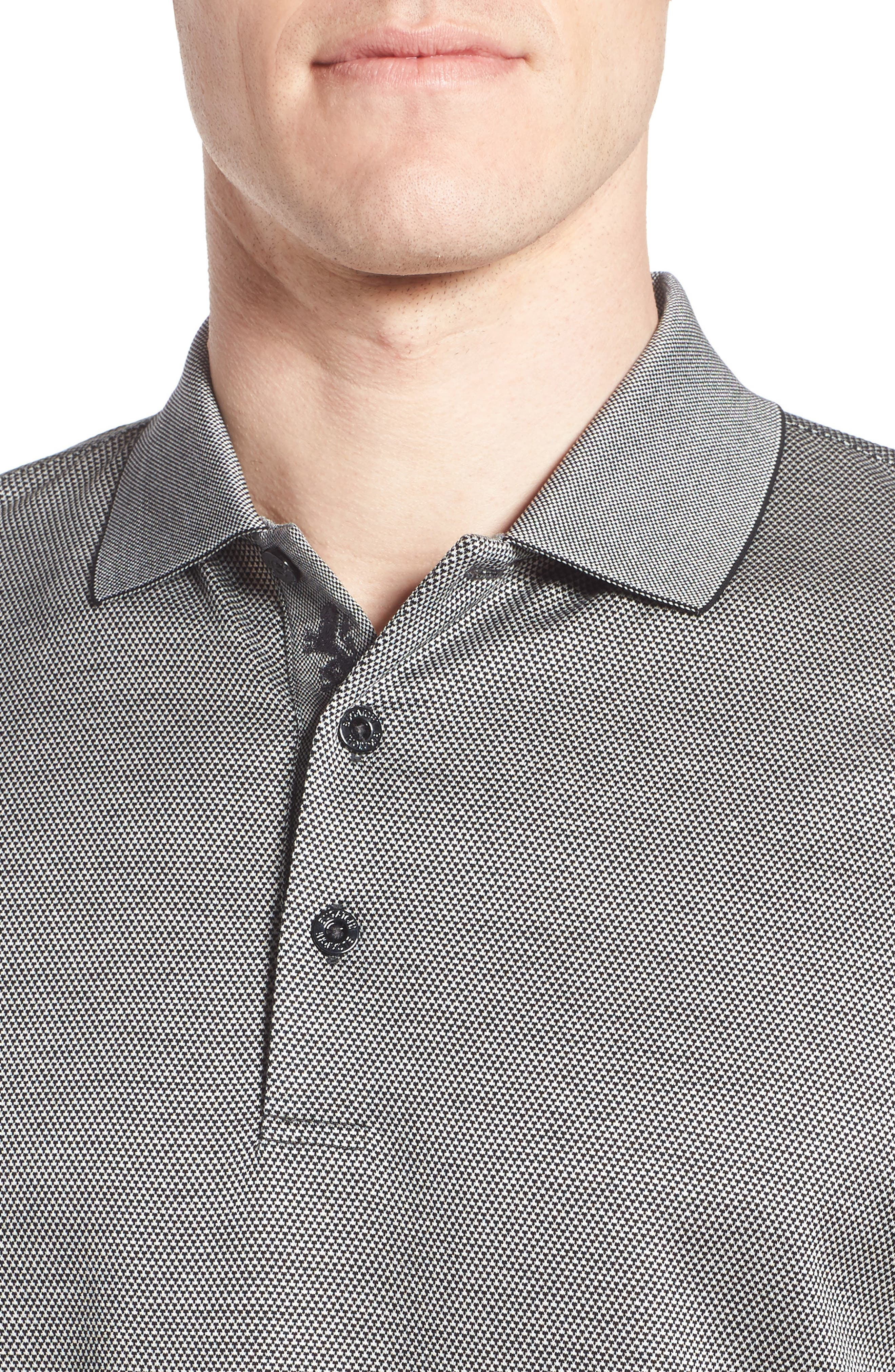 Two-Tone Polo,                             Alternate thumbnail 4, color,                             001