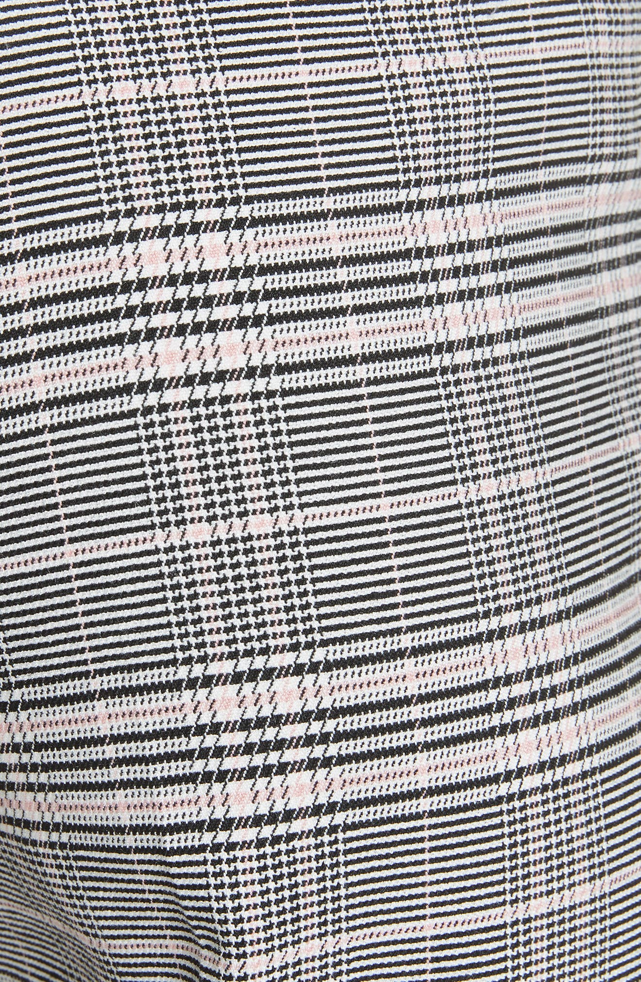 Ted Working Title Kimmt Check Plaid Trousers,                             Alternate thumbnail 5, color,                             GREY