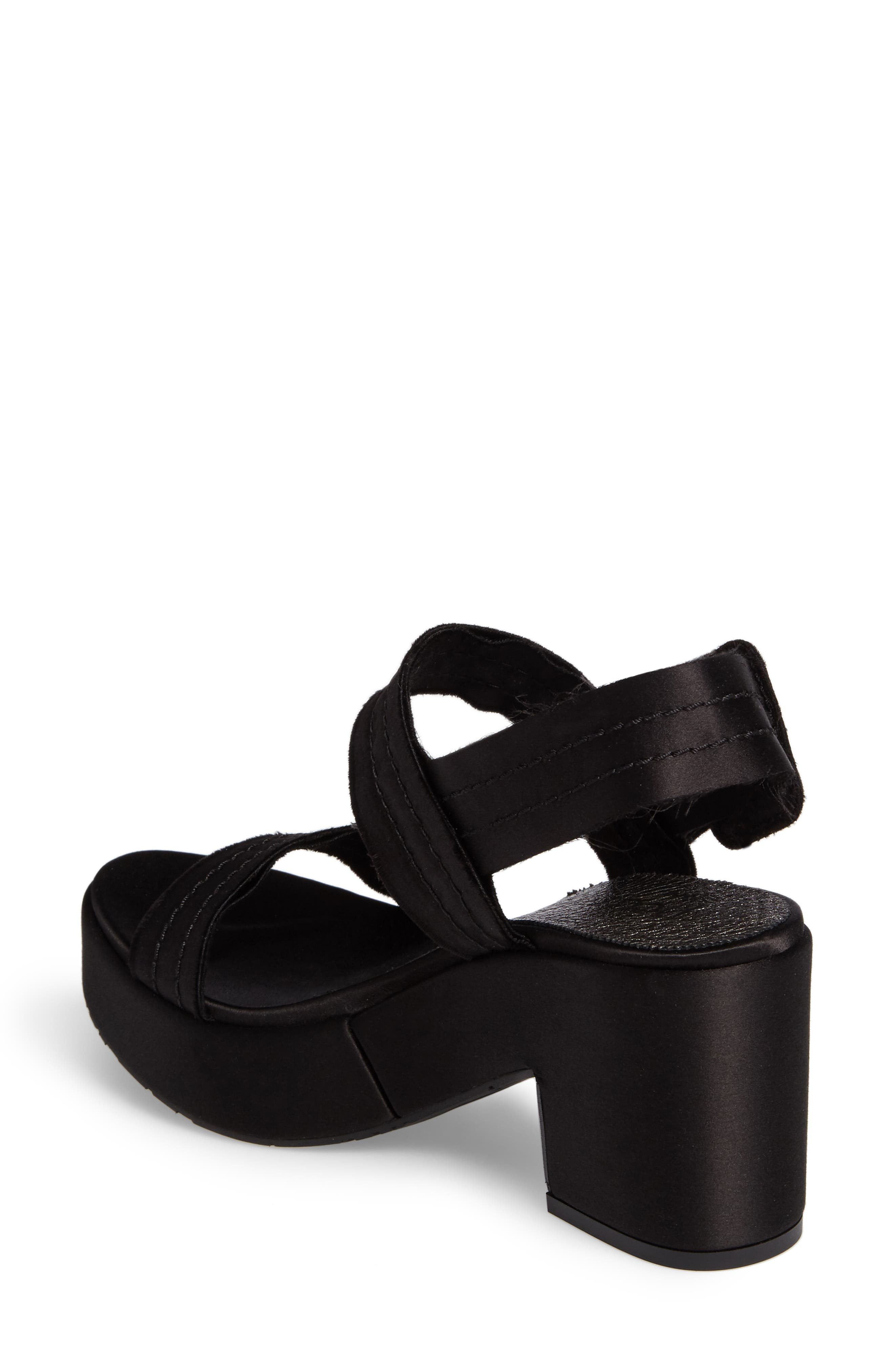 Decima Platform Sandal,                             Alternate thumbnail 2, color,                             001