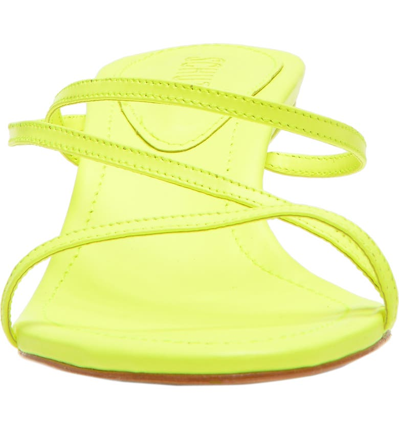 f6031bb2424 Schutz Women S Evenise Neon Kitten Heel Sandals In Neon Yellow ...