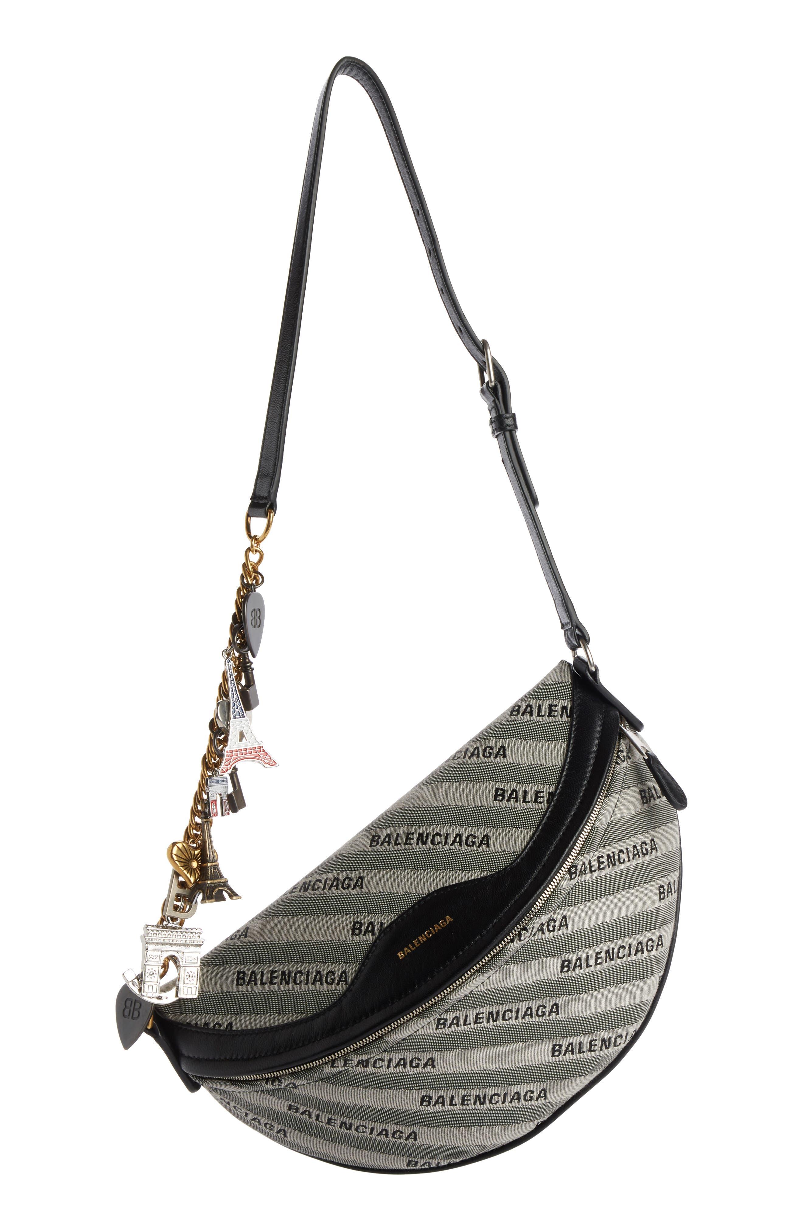 Extra Small Souvenir Logo Belt Bag,                         Main,                         color, GRIS