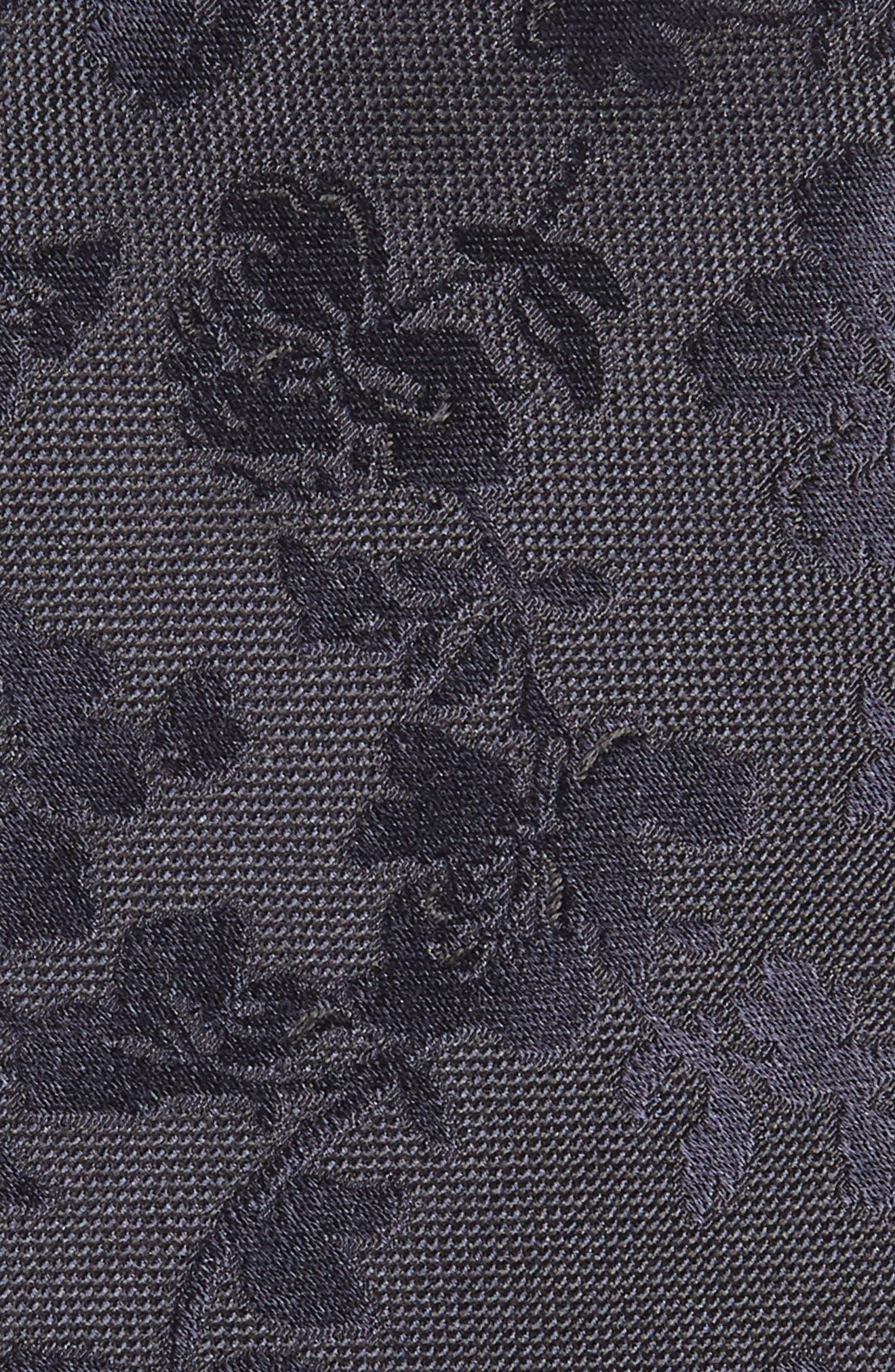 Tonal Floral Silk Tie,                             Alternate thumbnail 2, color,                             415