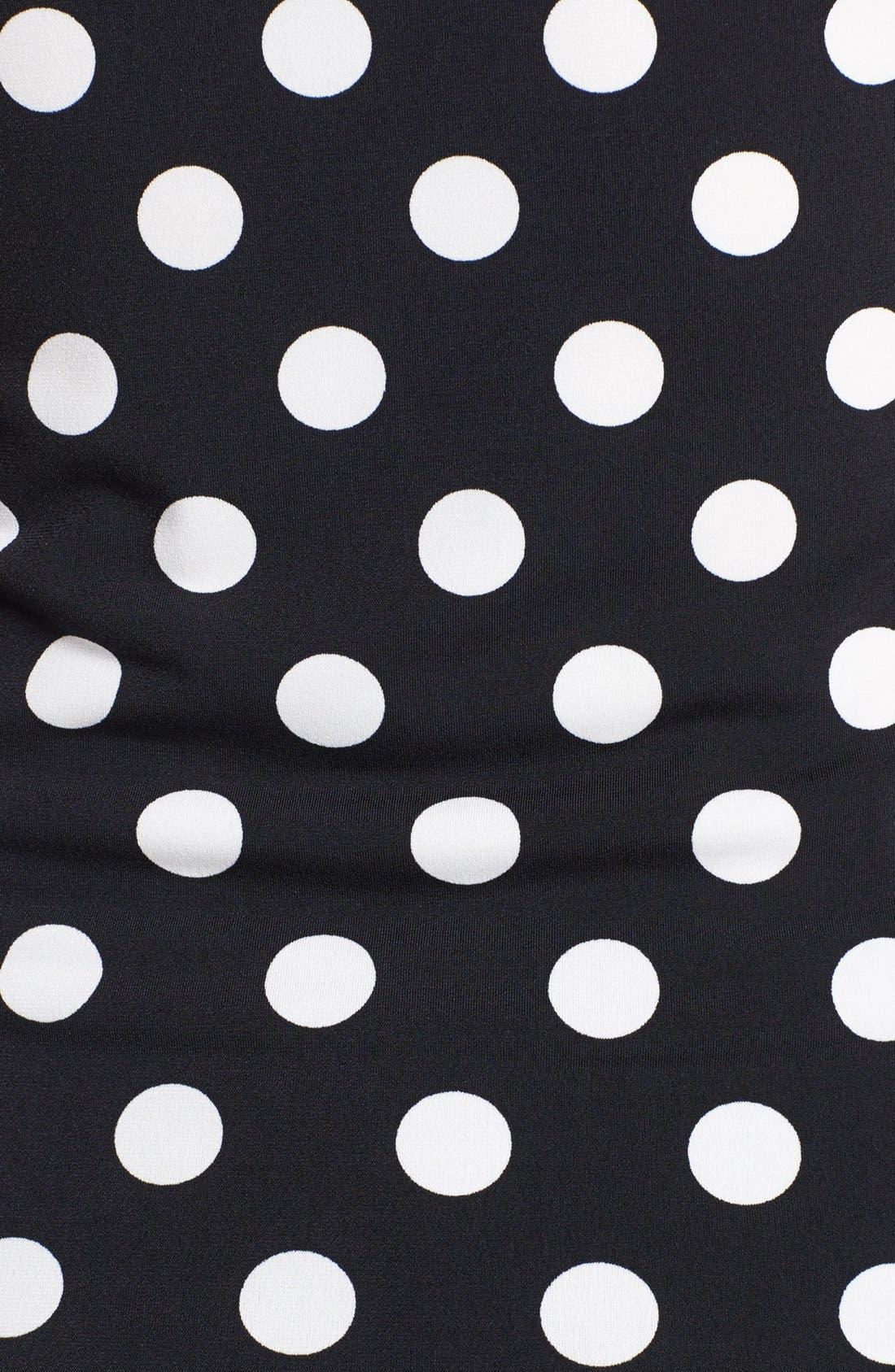 Crisscross Panel Stripe Top,                             Alternate thumbnail 2, color,                             001
