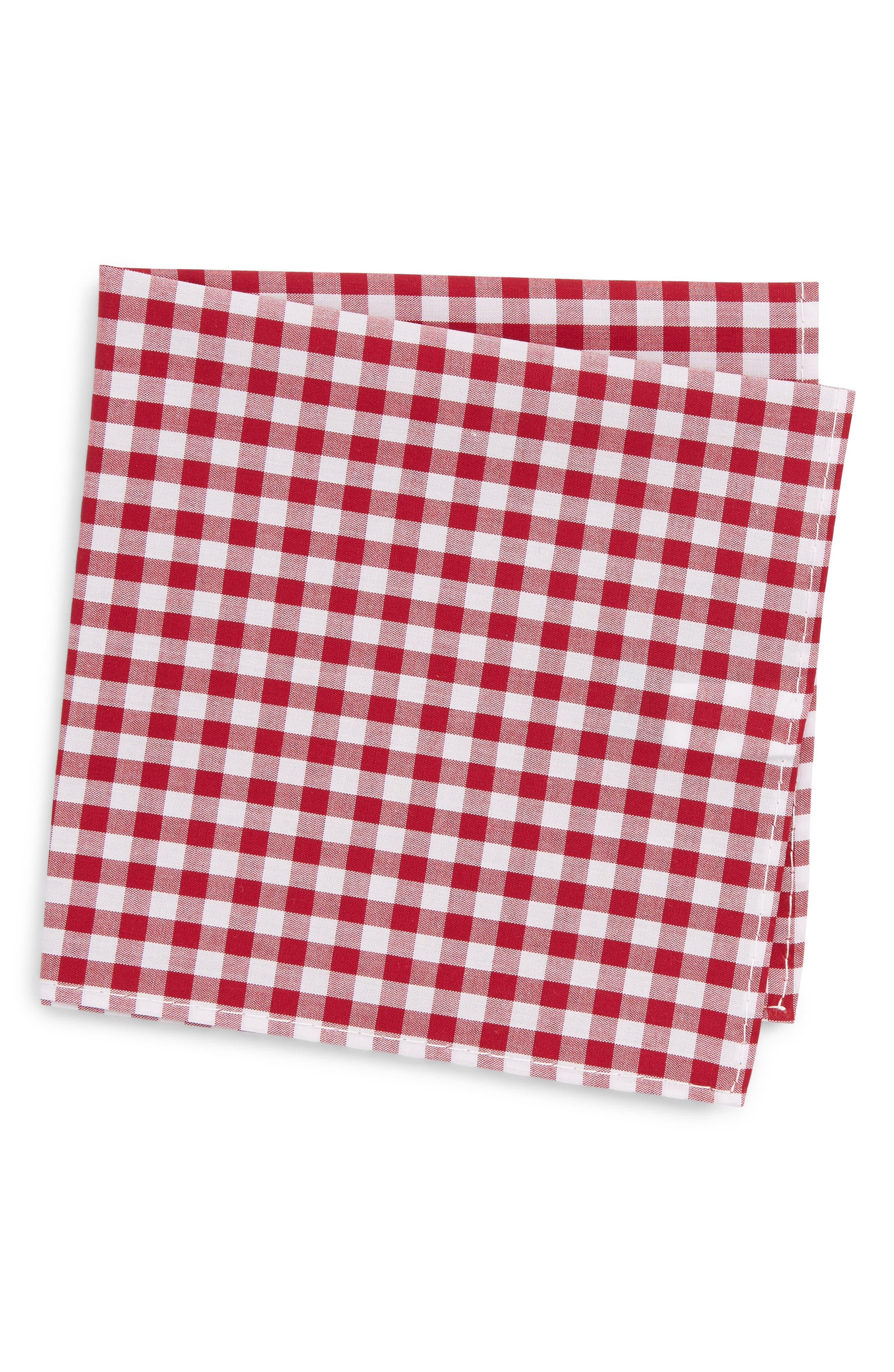 Check Pocket Square,                         Main,                         color, 600