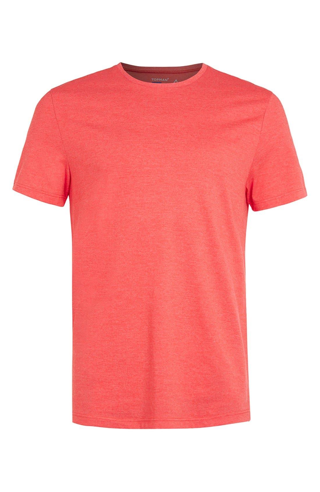 Slim Fit Crewneck T-Shirt,                             Alternate thumbnail 417, color,