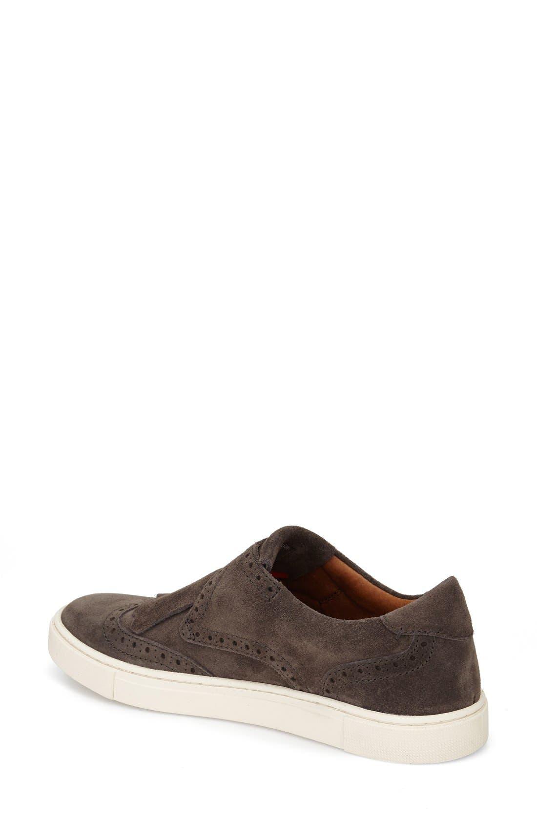'Gemma' Kiltie Slip On-Sneaker,                             Alternate thumbnail 6, color,