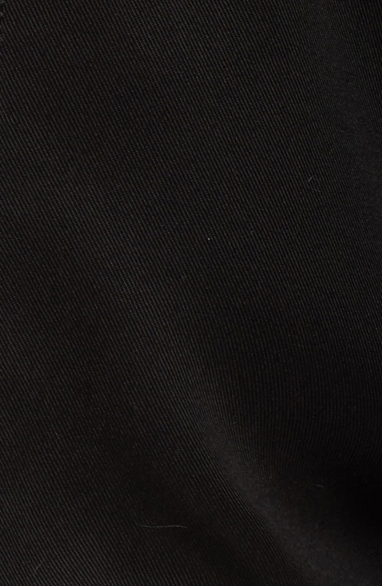 Drawstring Hem Bomber Jacket,                             Alternate thumbnail 6, color,