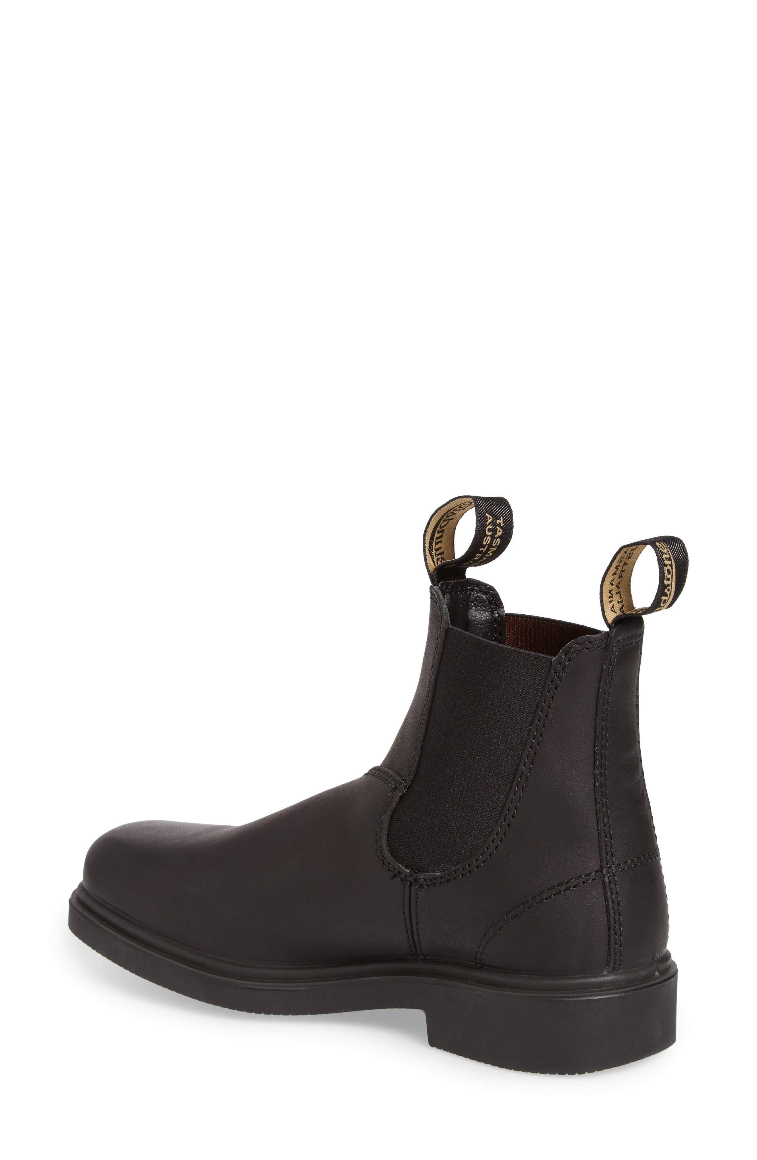 BLUNDSTONE FOOTWEAR,                             Chelsea Boot,                             Alternate thumbnail 2, color,                             BLACK LEATHER