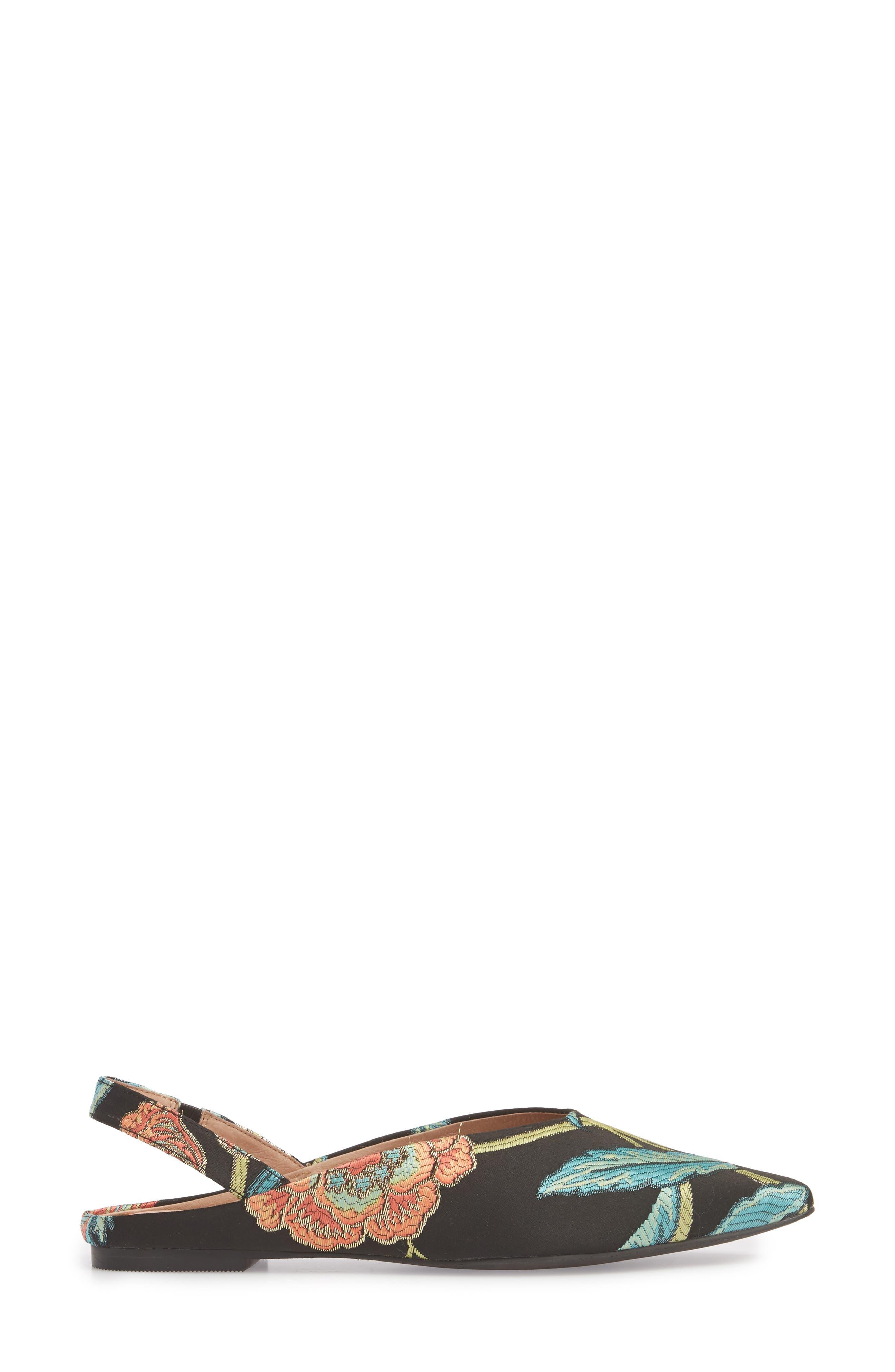 Sadie Genuine Calf Hair Slingback Flat,                             Alternate thumbnail 15, color,