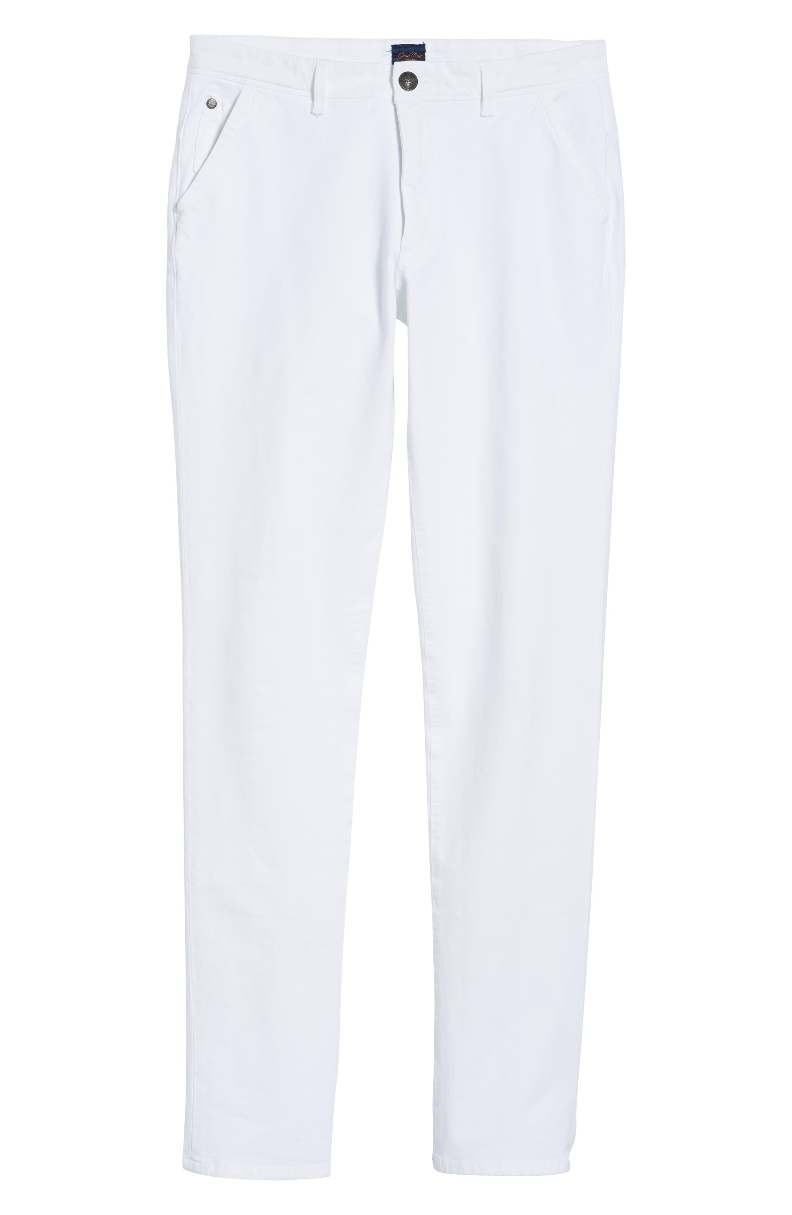 Hybrid Slim Fit Stretch Pants,                             Alternate thumbnail 6, color,                             100