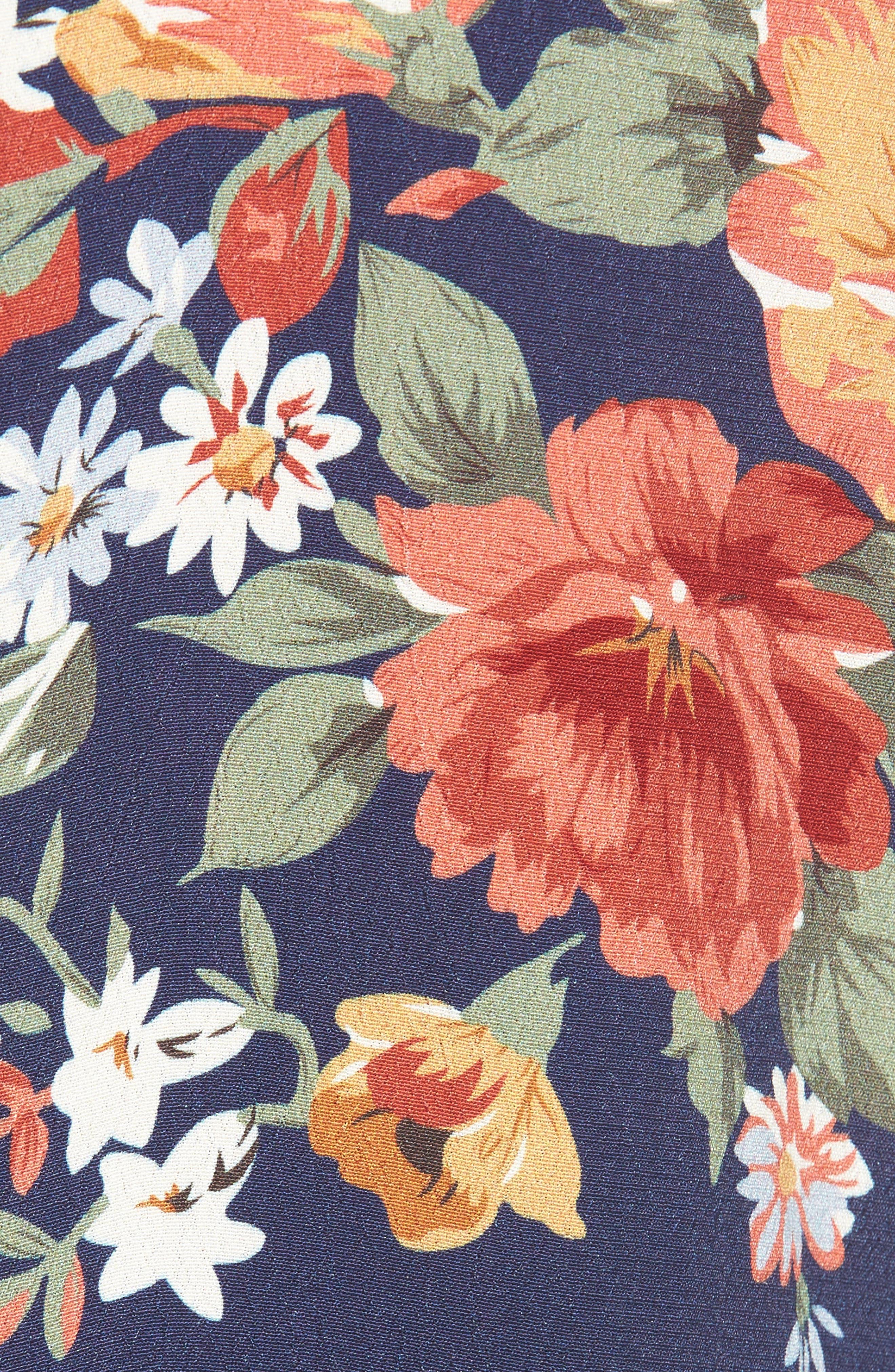 Crenshaw Maxi Dress,                             Alternate thumbnail 5, color,                             400