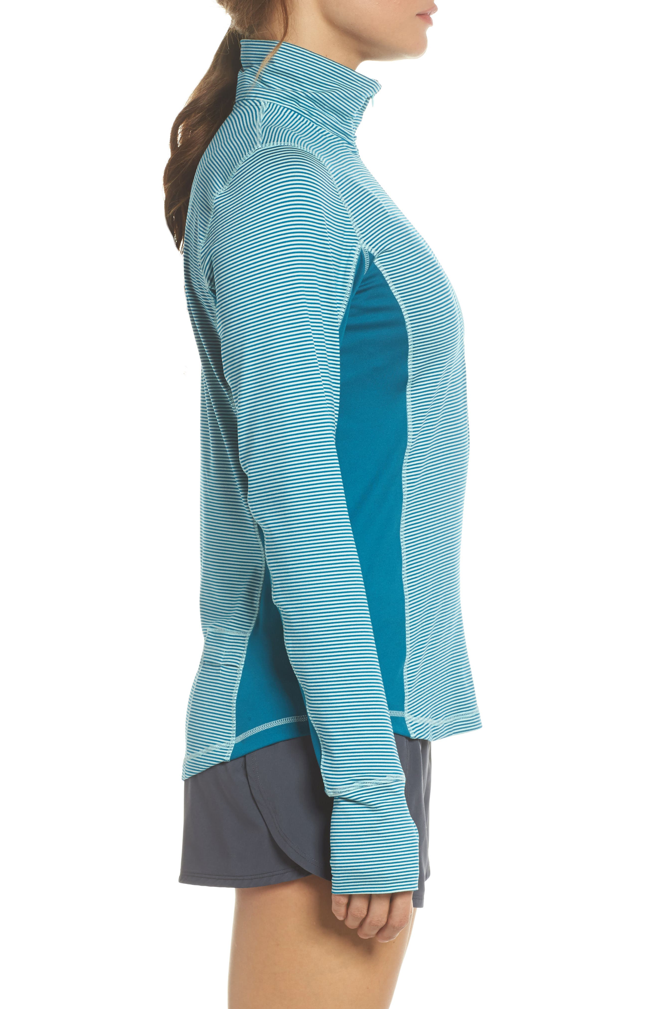 'Dash' Half Zip Jacket,                             Alternate thumbnail 3, color,                             406