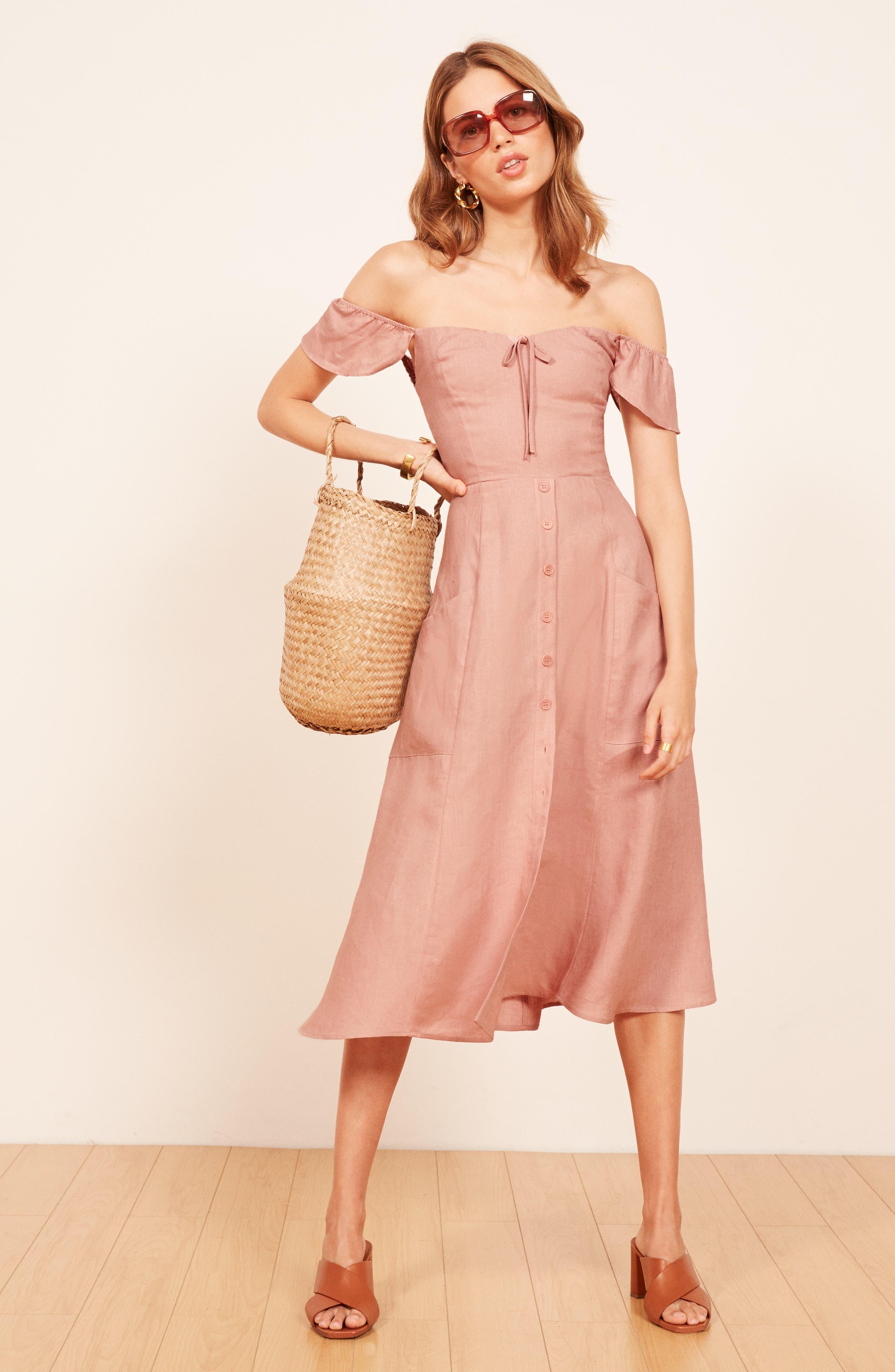 Francis Prairie A-Line Dress,                             Alternate thumbnail 2, color,                             650