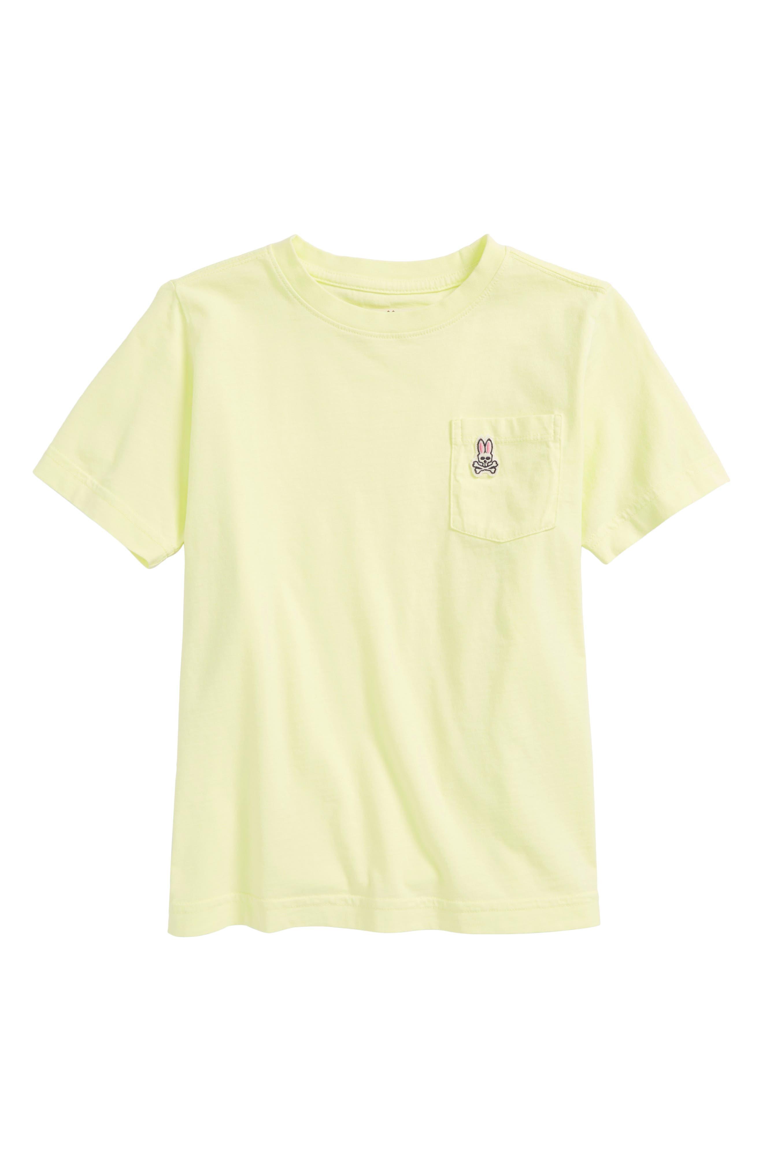 PSYCHO BUNNY Langford Pocket T-Shirt, Main, color, 320