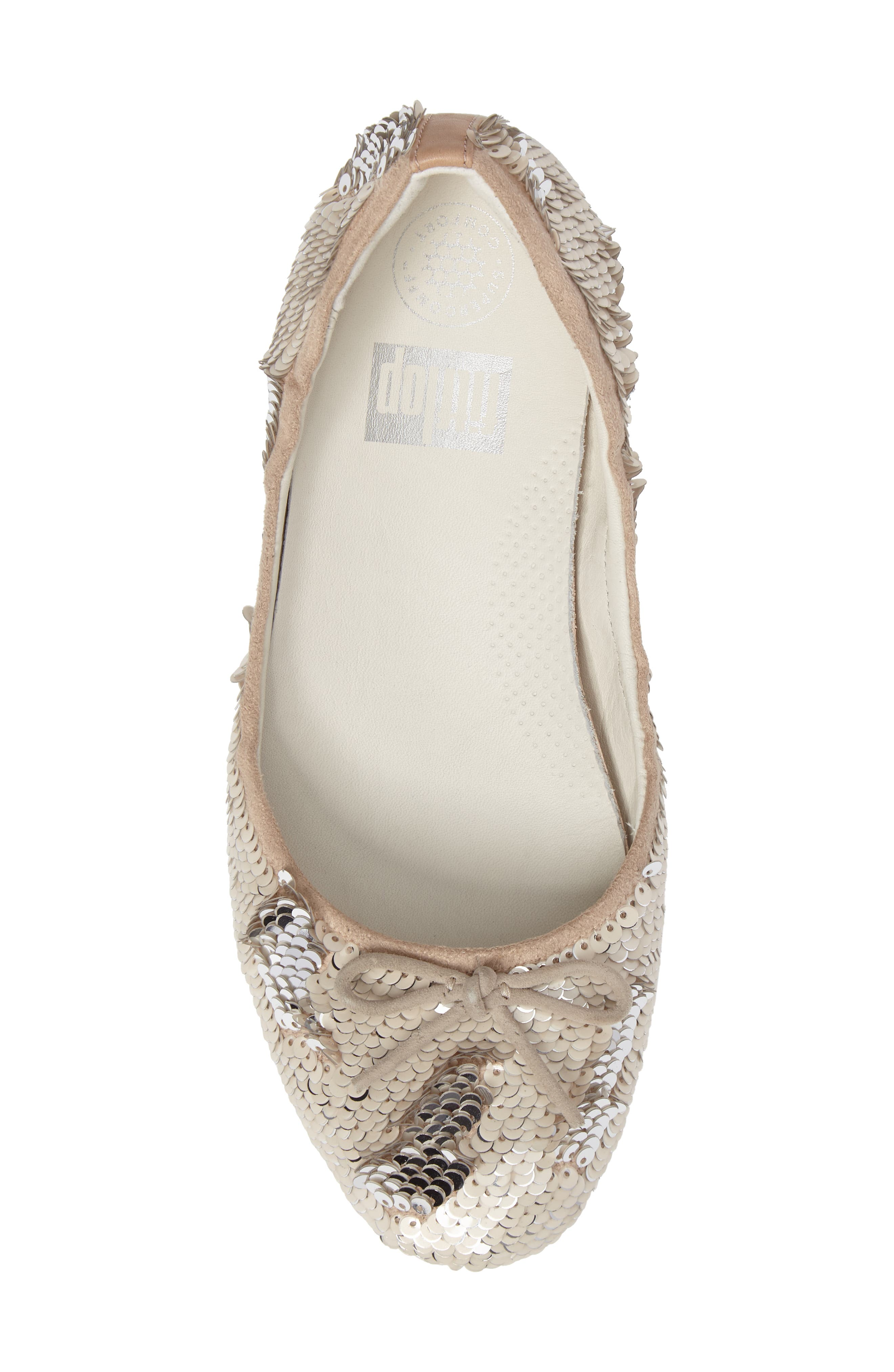 Superballerina Sequin Ballet Flat,                             Alternate thumbnail 10, color,