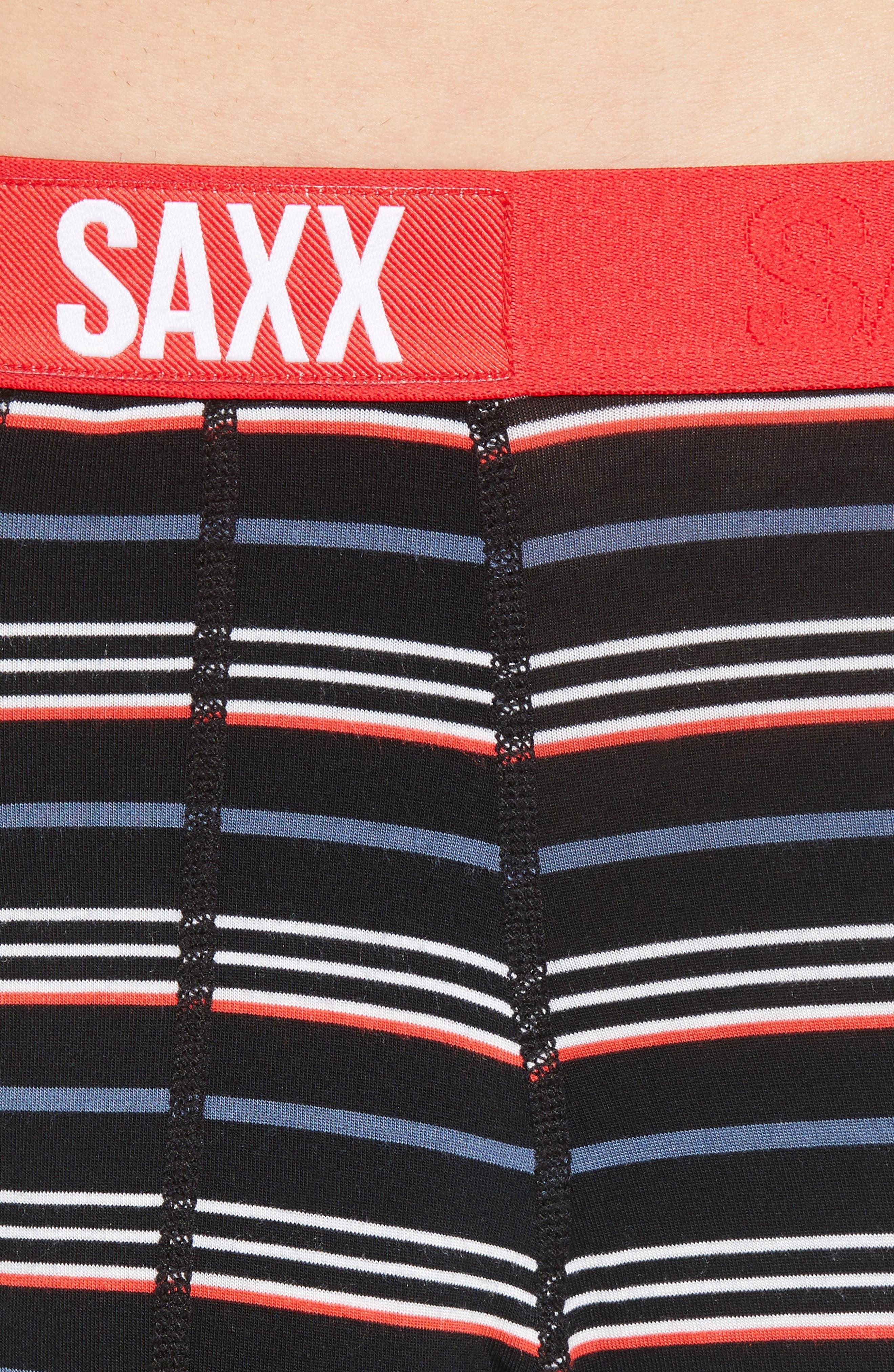 SAXX,                             Ultra Fly Boxers,                             Alternate thumbnail 4, color,                             COAST STRIPE