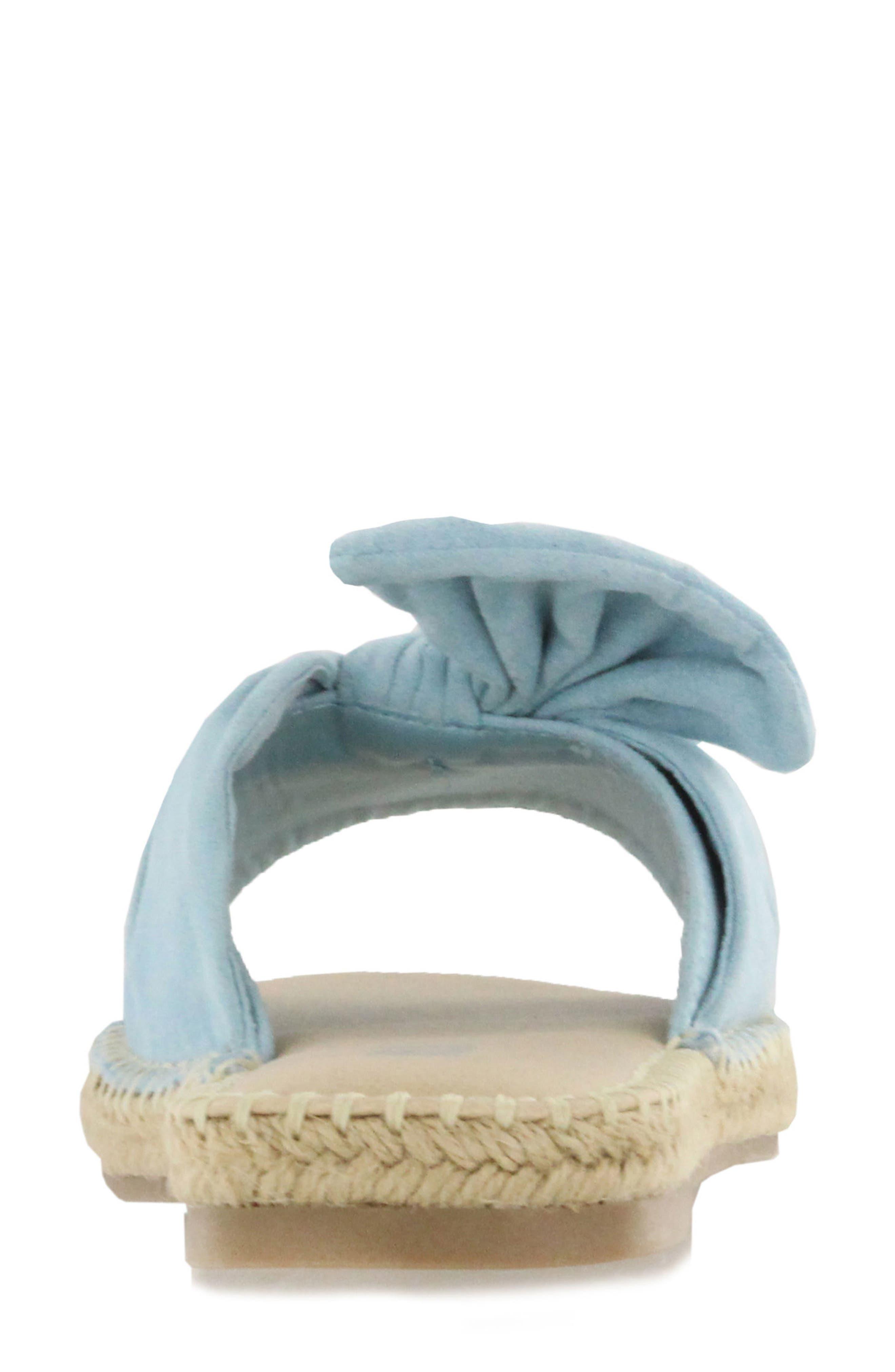 Kensi Knotted Slide Sandal,                             Alternate thumbnail 7, color,