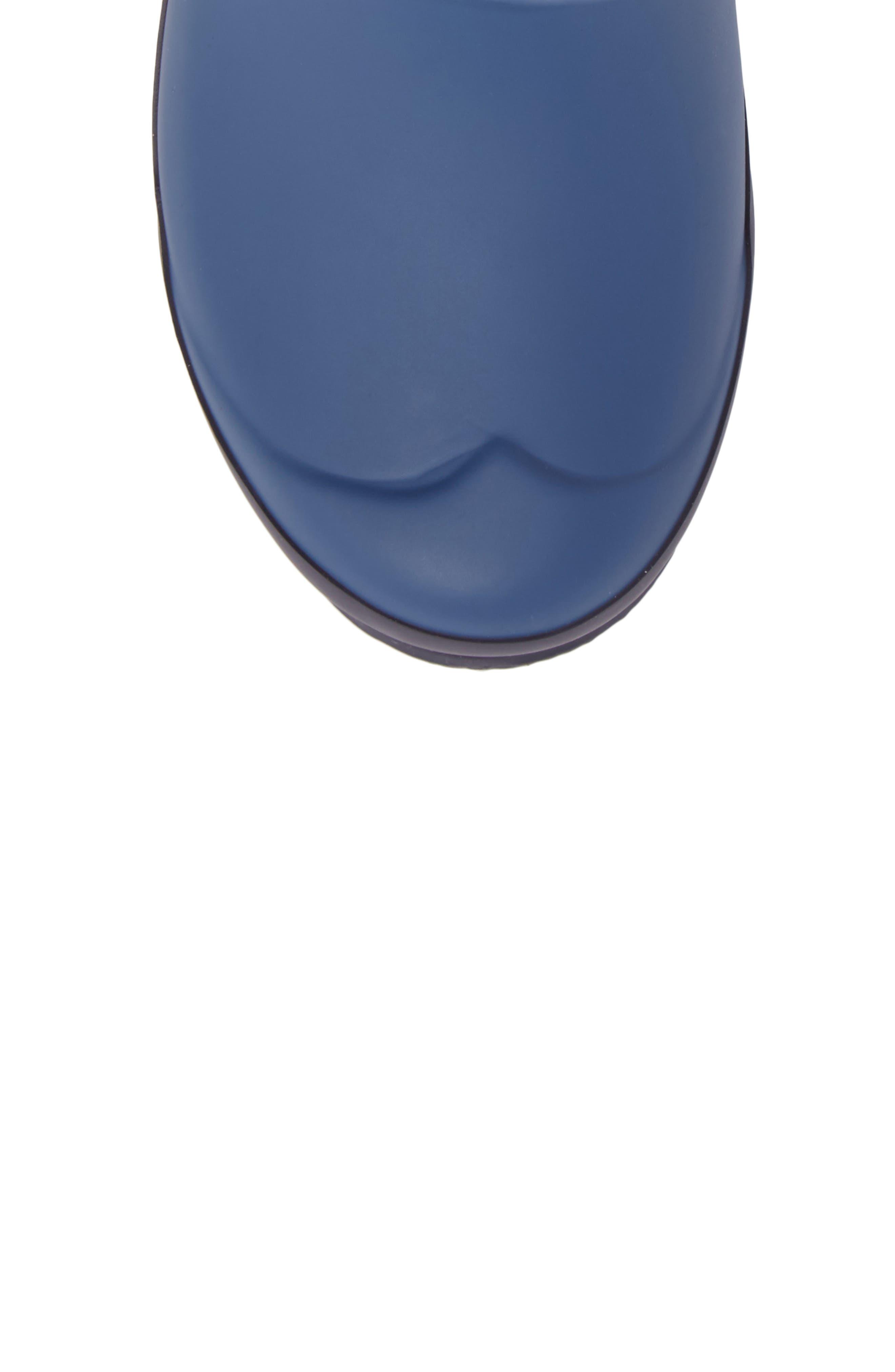 'Original Contrast Sole' Waterproof Rain Boot,                             Alternate thumbnail 5, color,                             400