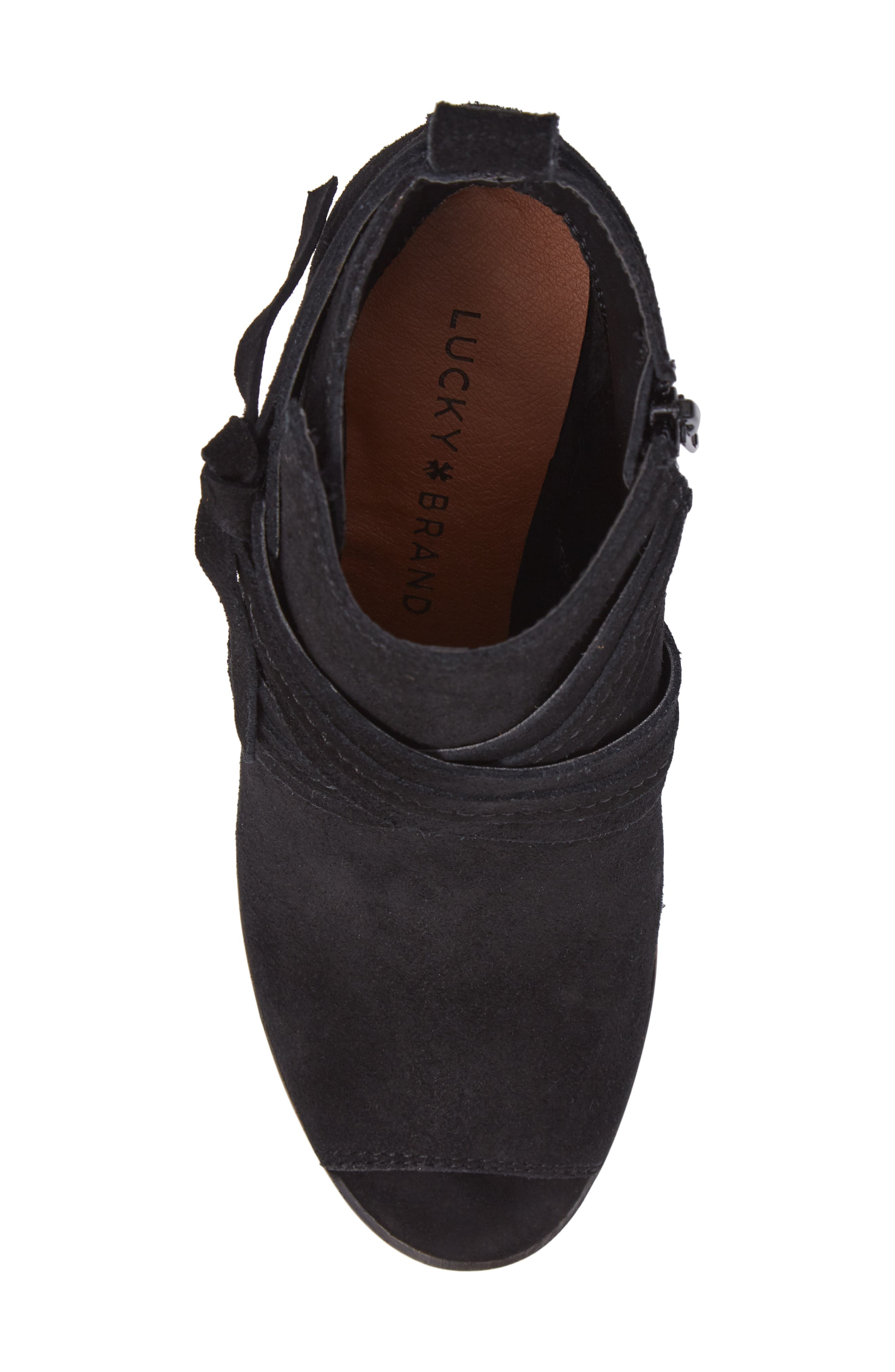 Udom Wedge Bootie,                             Alternate thumbnail 5, color,                             001