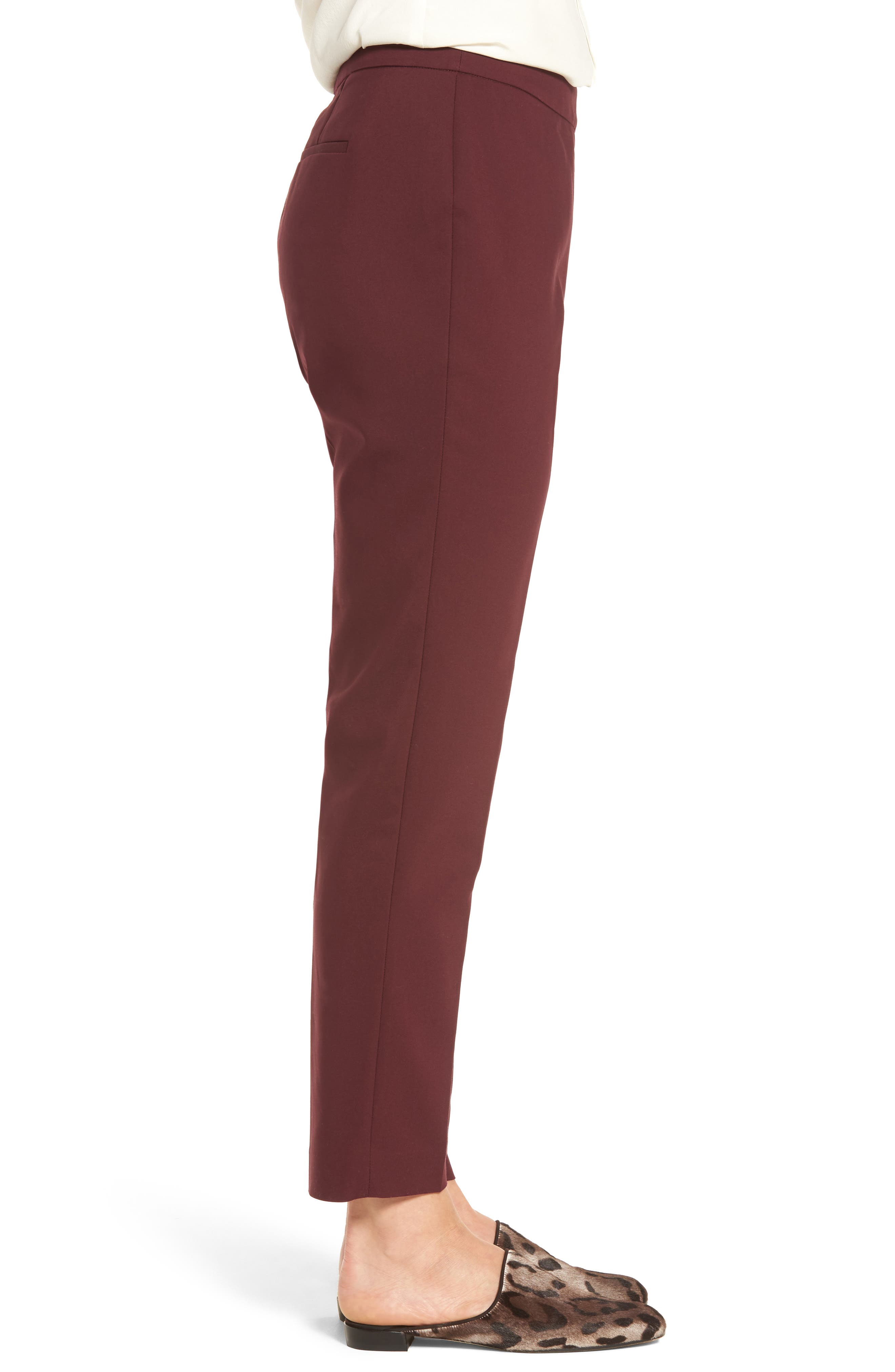 Jackie Pull-On Ankle Pants,                             Alternate thumbnail 6, color,