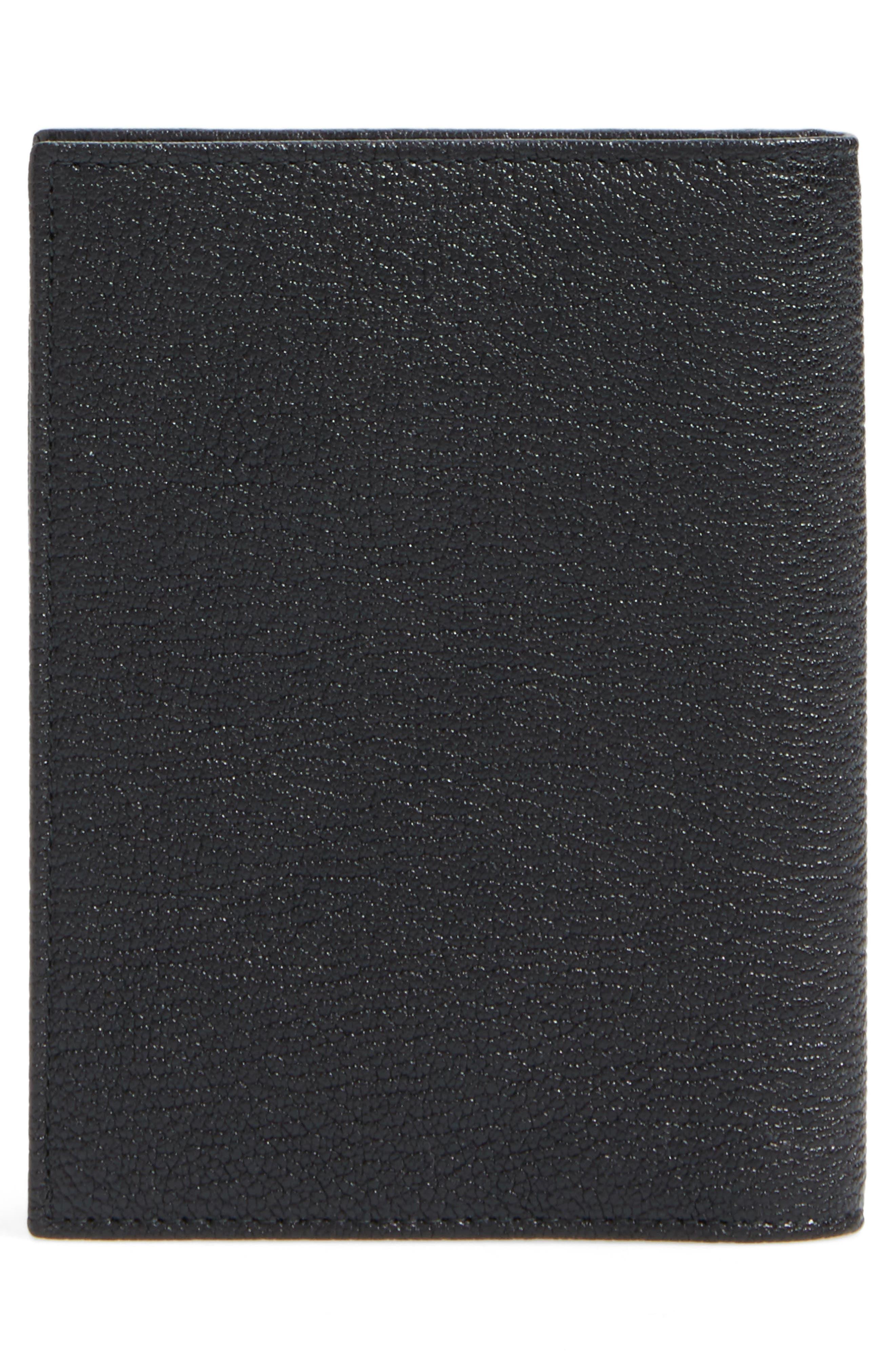 Leather Passport Case,                             Alternate thumbnail 4, color,                             001