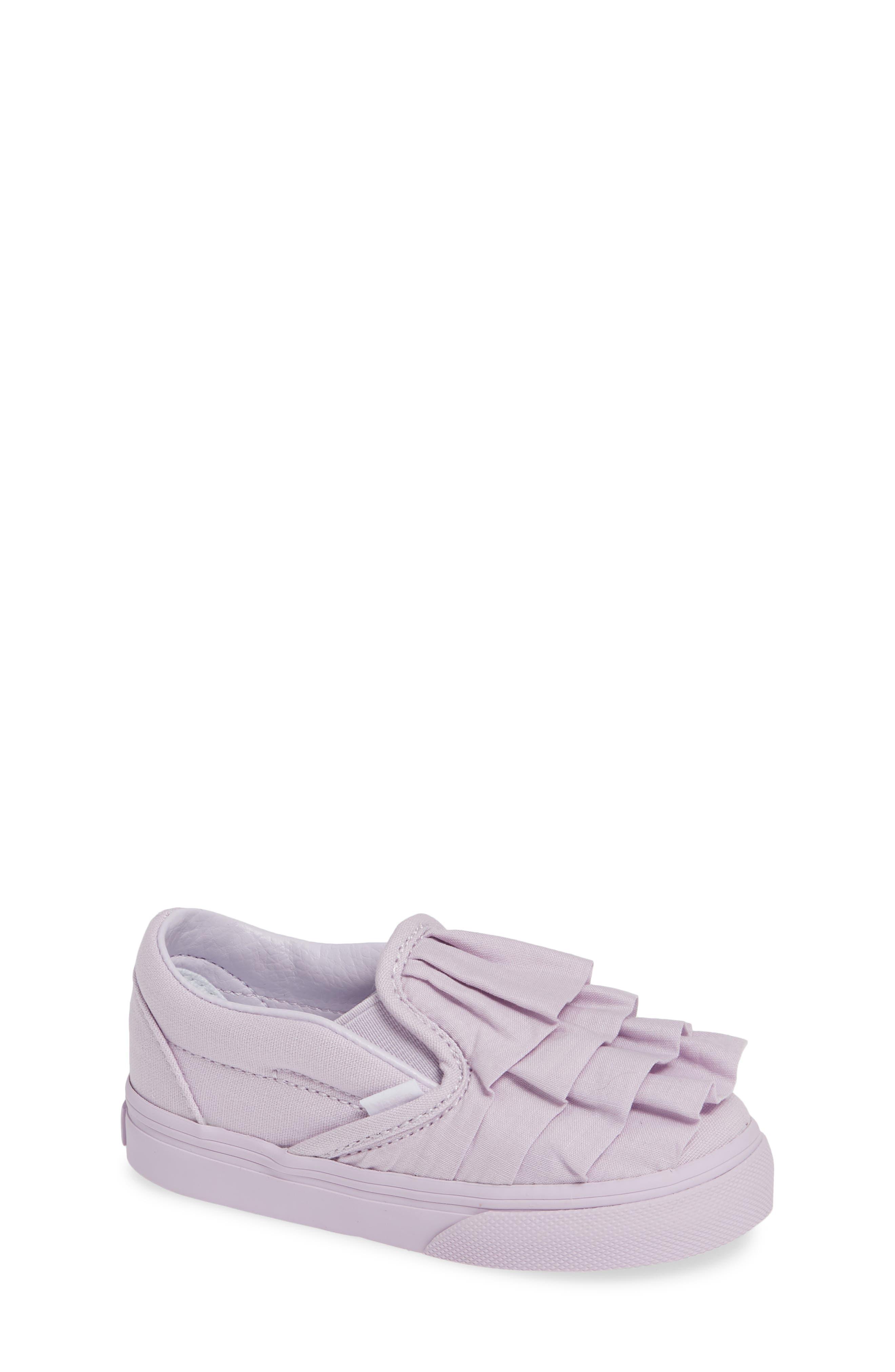 Ruffle Classic Slip-On Sneaker, Main, color, 530