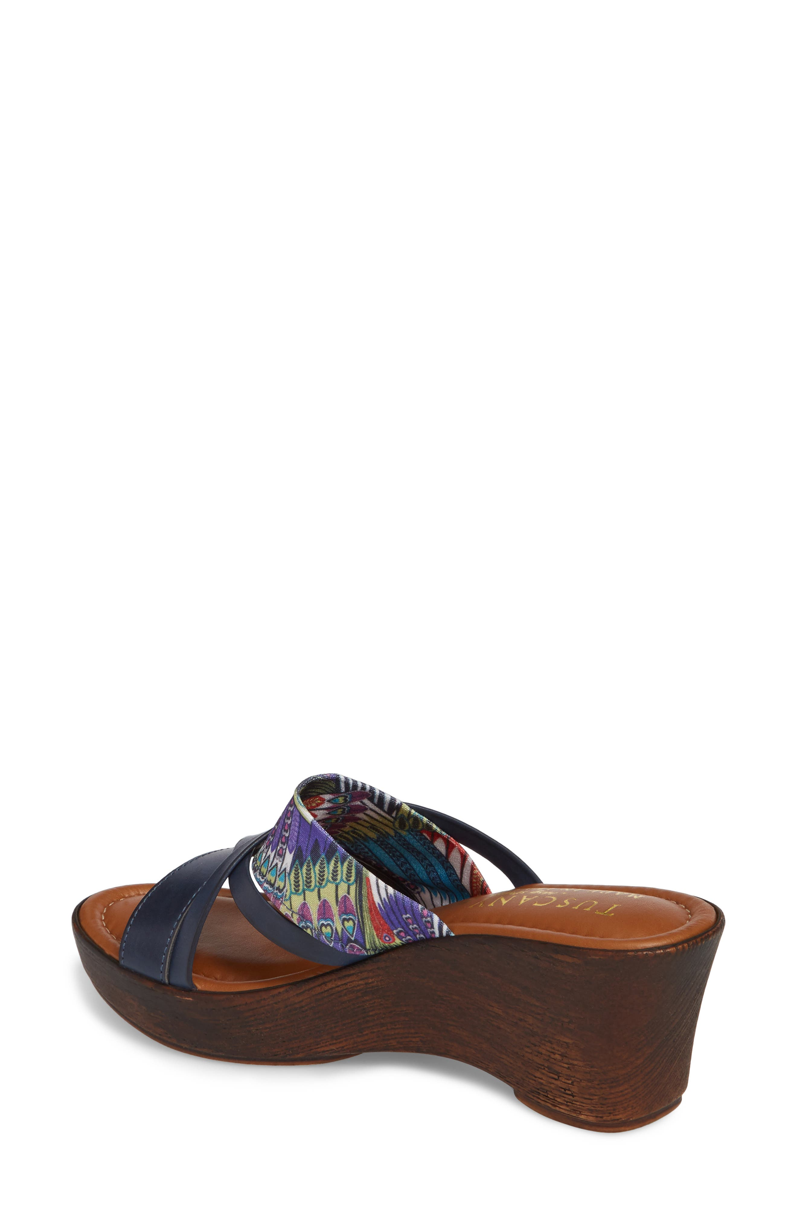 by East Street<sup>®</sup> Lucette Strappy Wedge Mule,                             Alternate thumbnail 9, color,