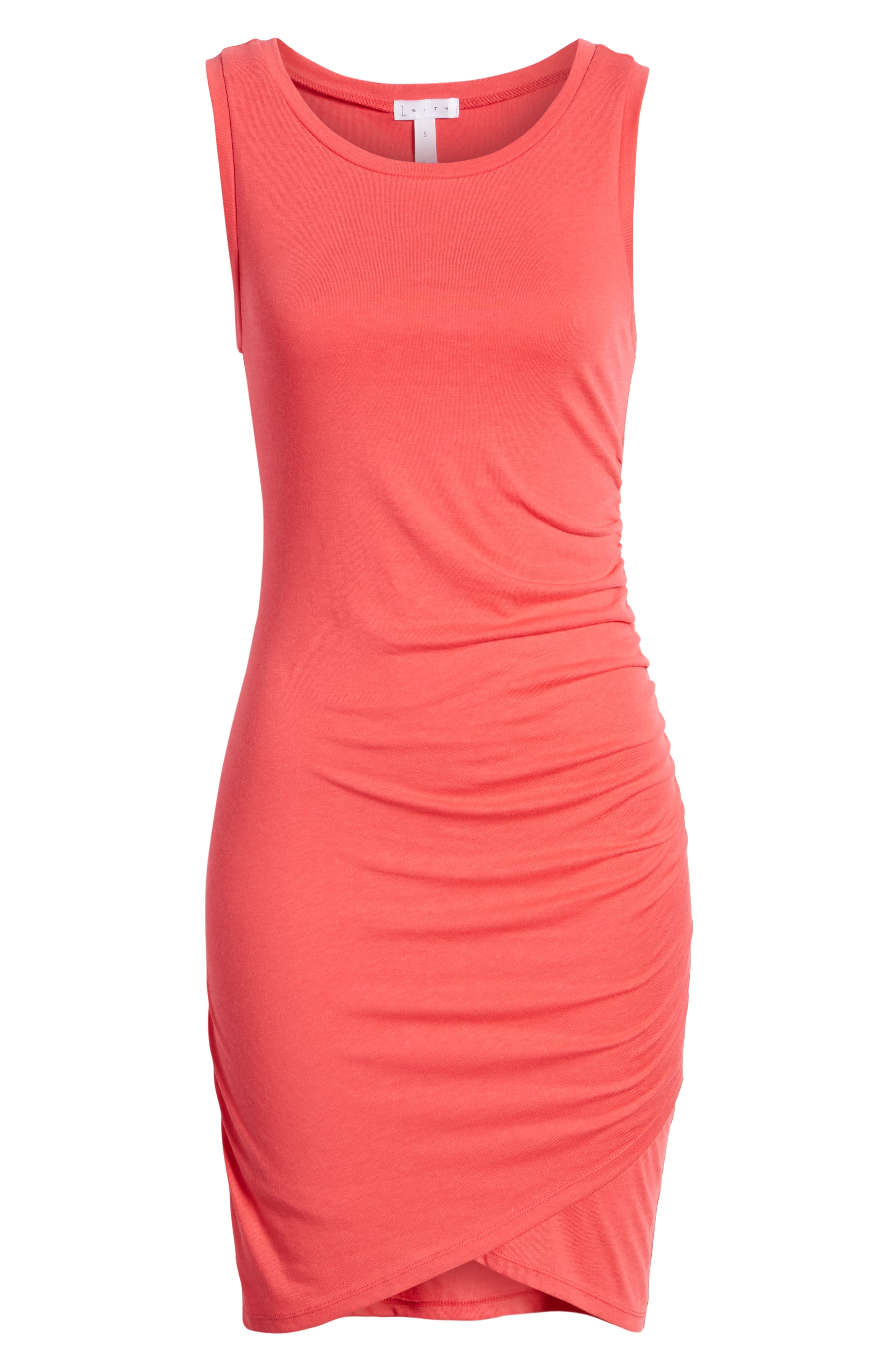 Ruched Body-Con Tank Dress,                             Alternate thumbnail 177, color,