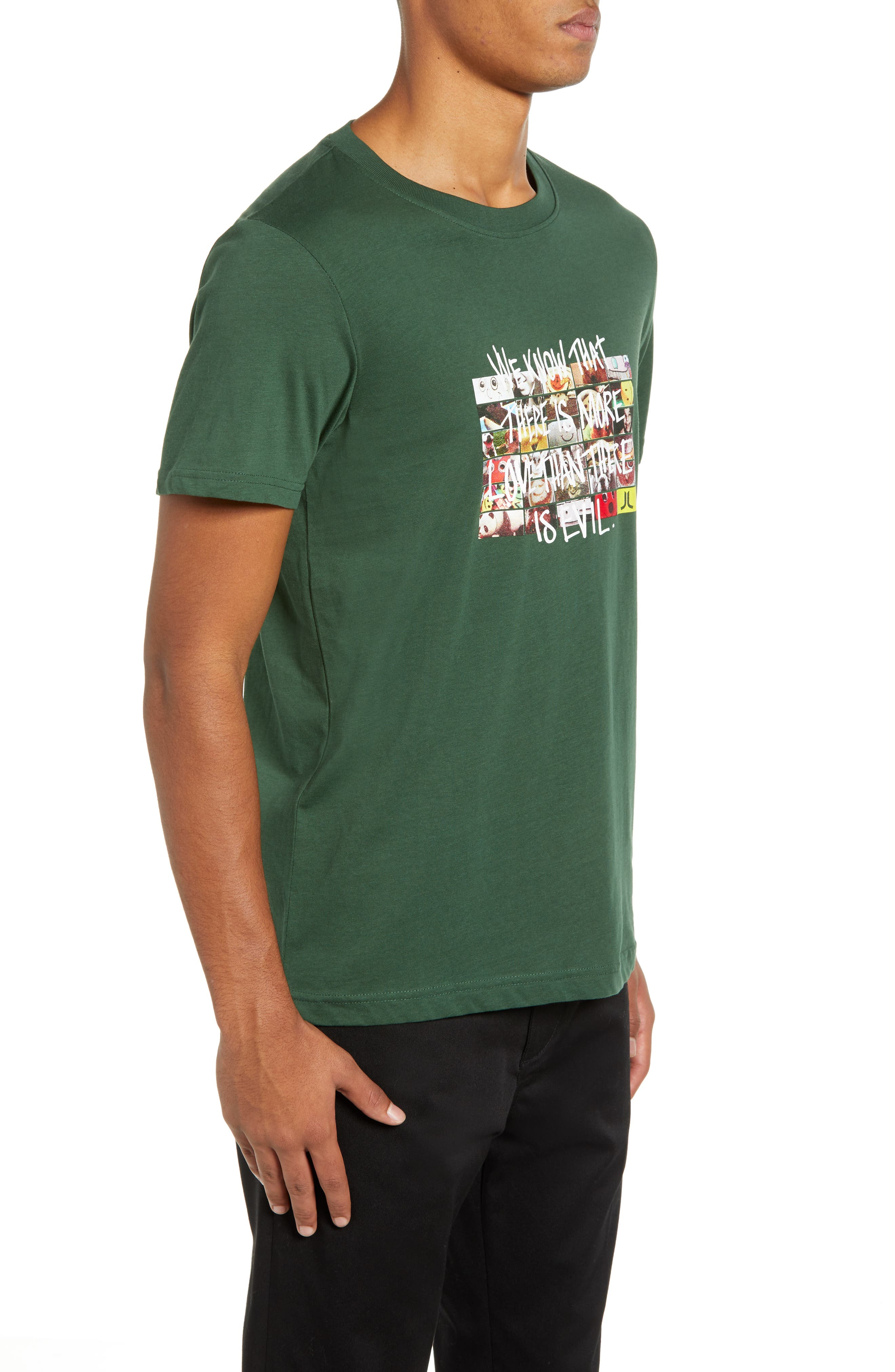 Max More Love Graphic T-Shirt,                             Alternate thumbnail 3, color,                             SYCAMORE