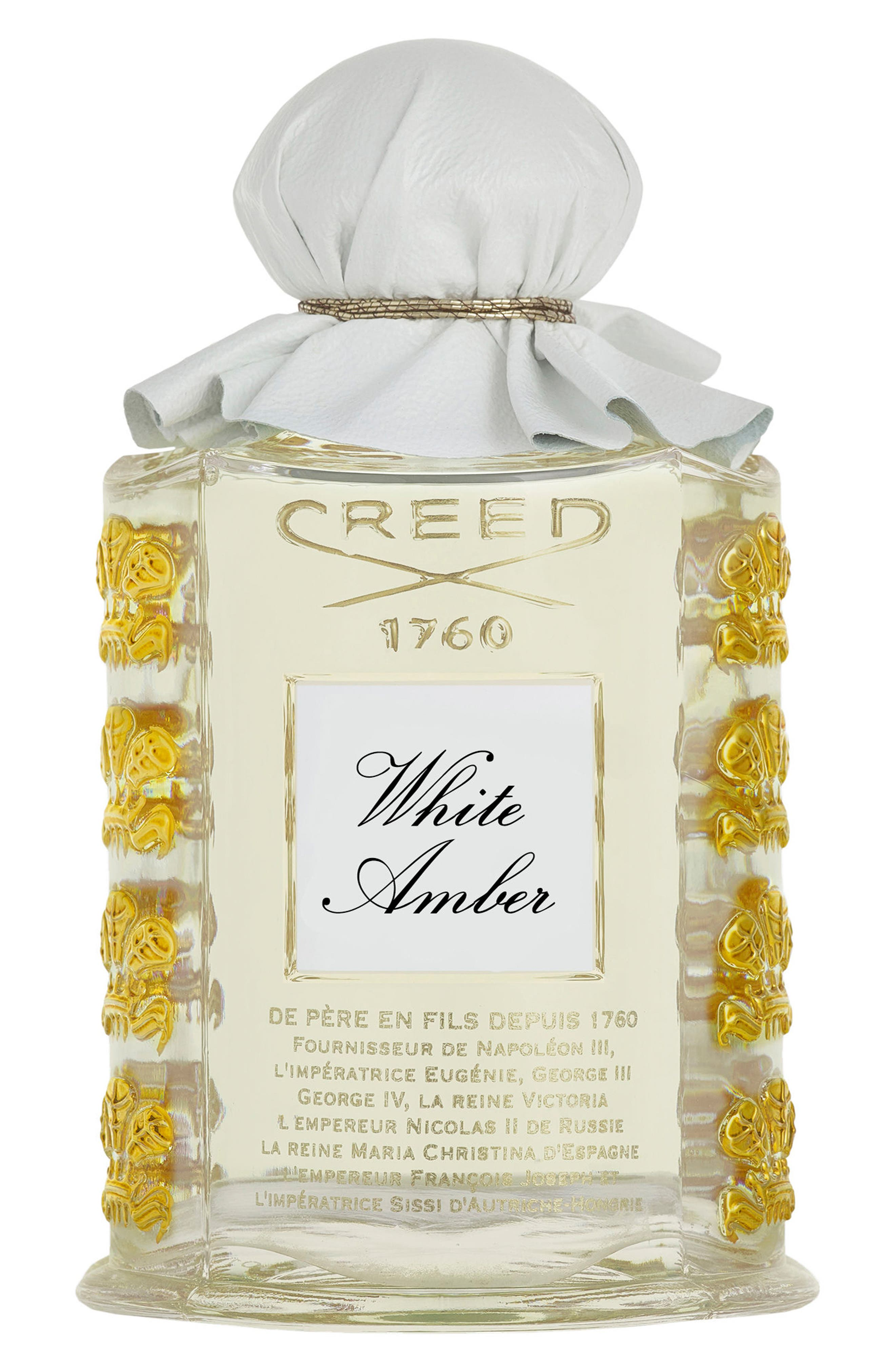Large Les Royals Exclusives White Amber Fragrance,                             Main thumbnail 1, color,                             000