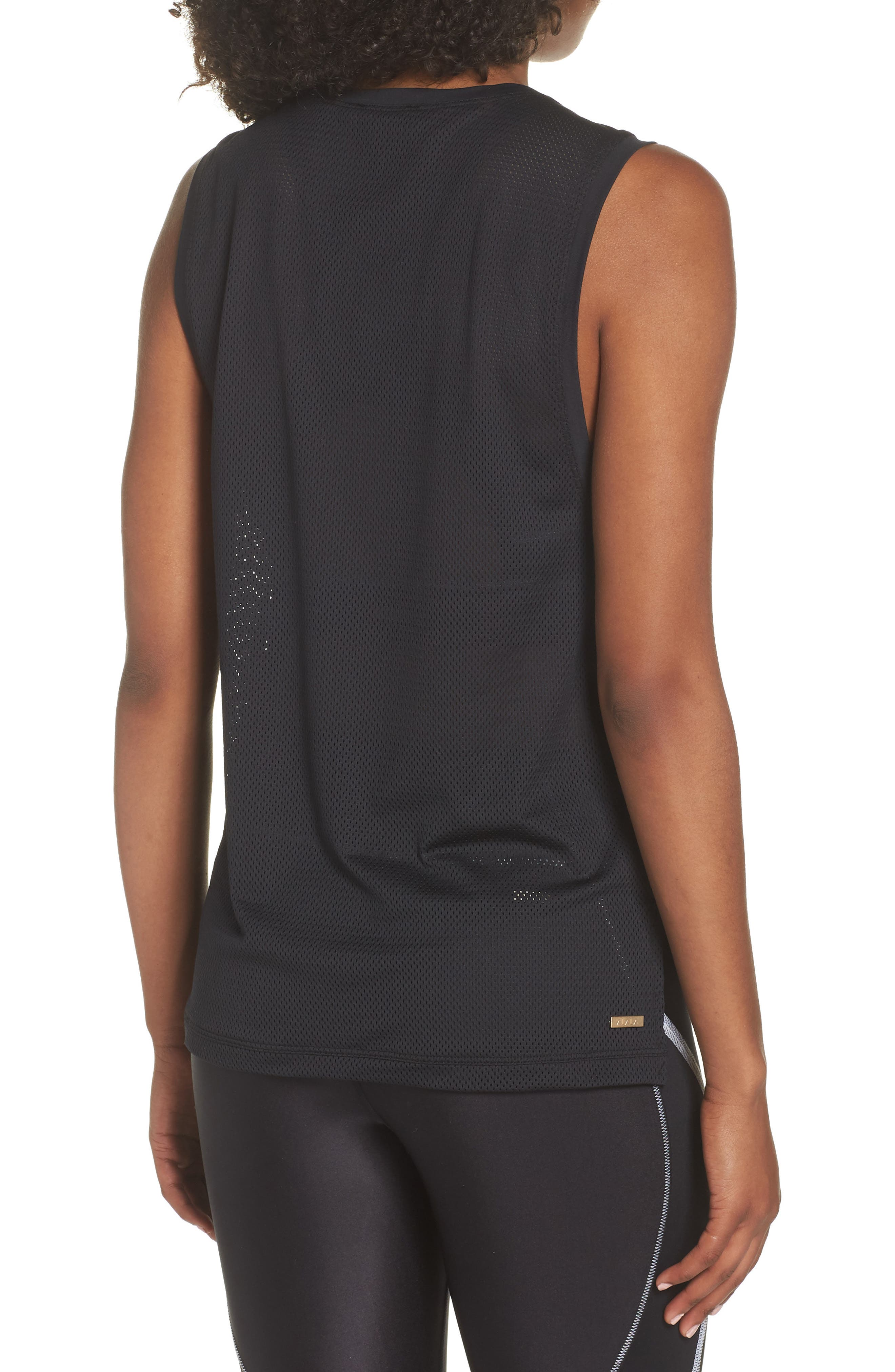 Skimm Mesh Back Tank,                             Alternate thumbnail 2, color,                             001
