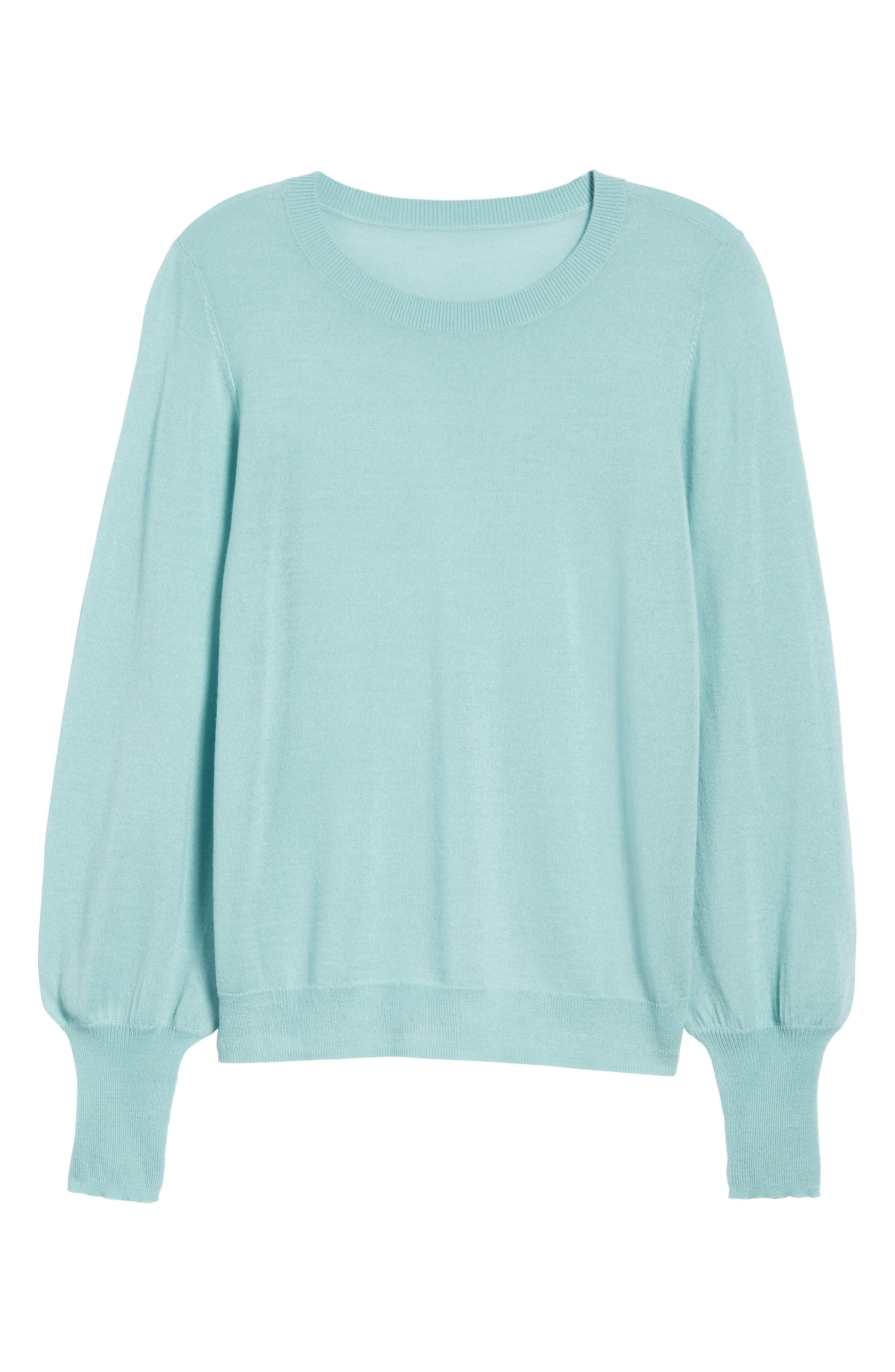 Puff Sleeve Sweater,                             Alternate thumbnail 57, color,