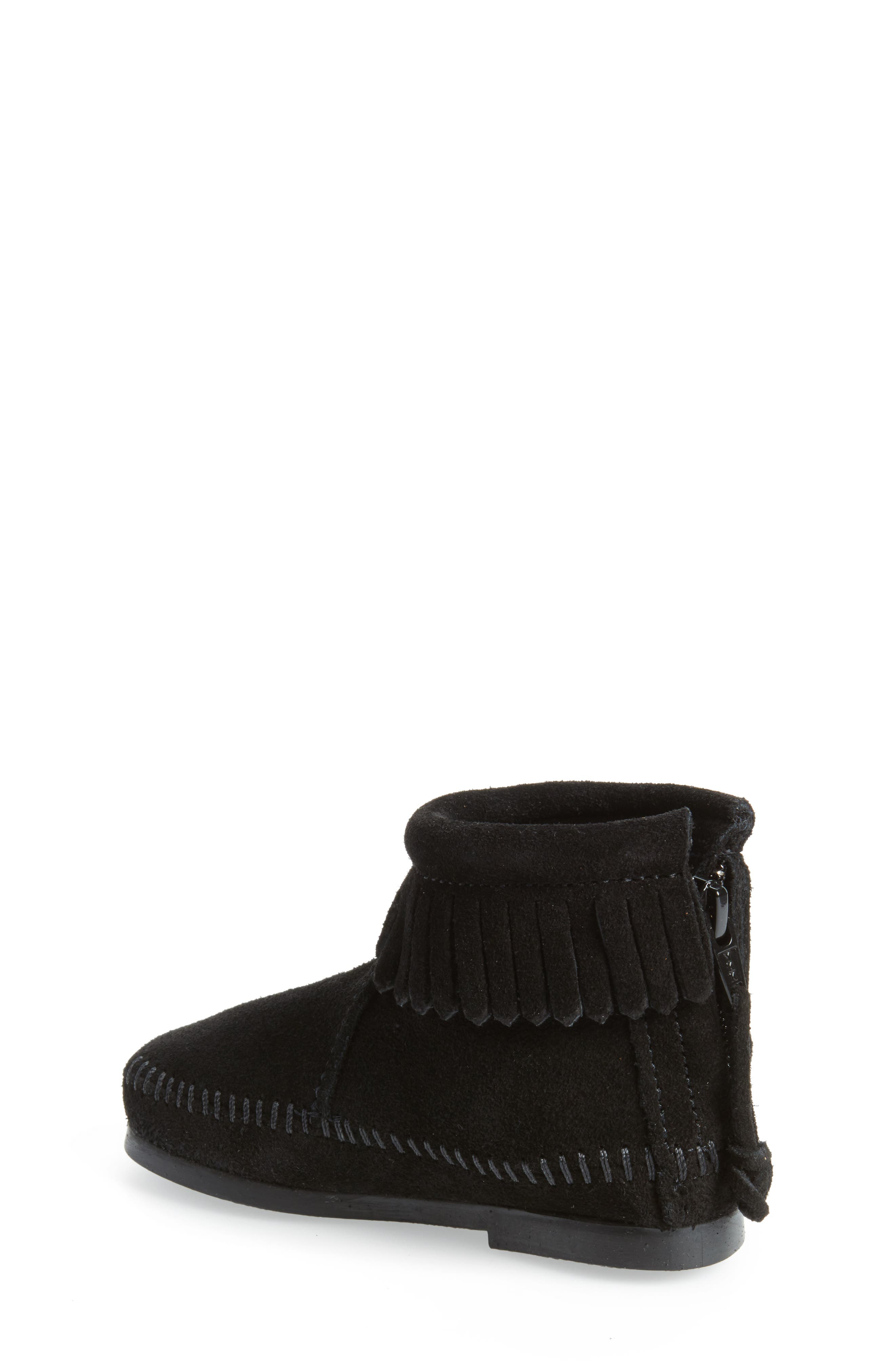 Back Zip Boot,                             Alternate thumbnail 2, color,                             001
