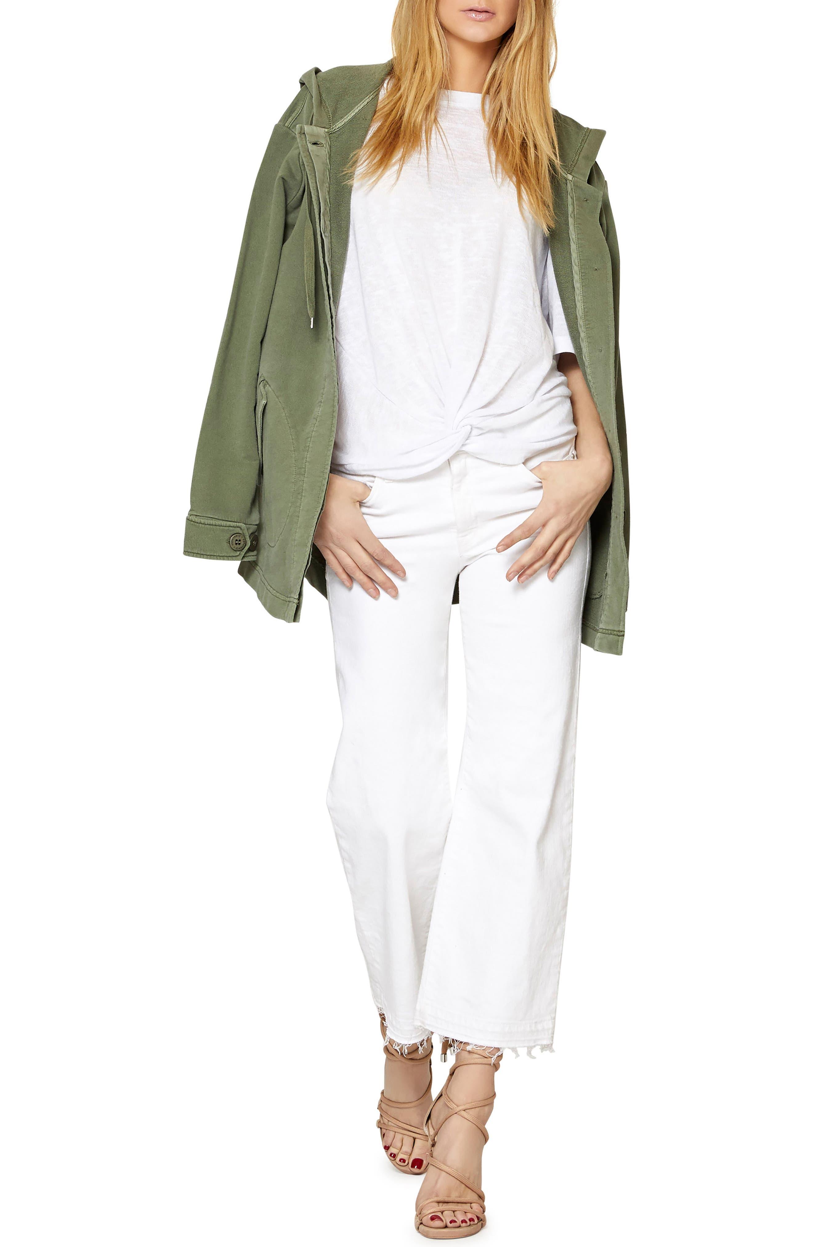Top Rank Hooded Jacket,                             Alternate thumbnail 4, color,                             300