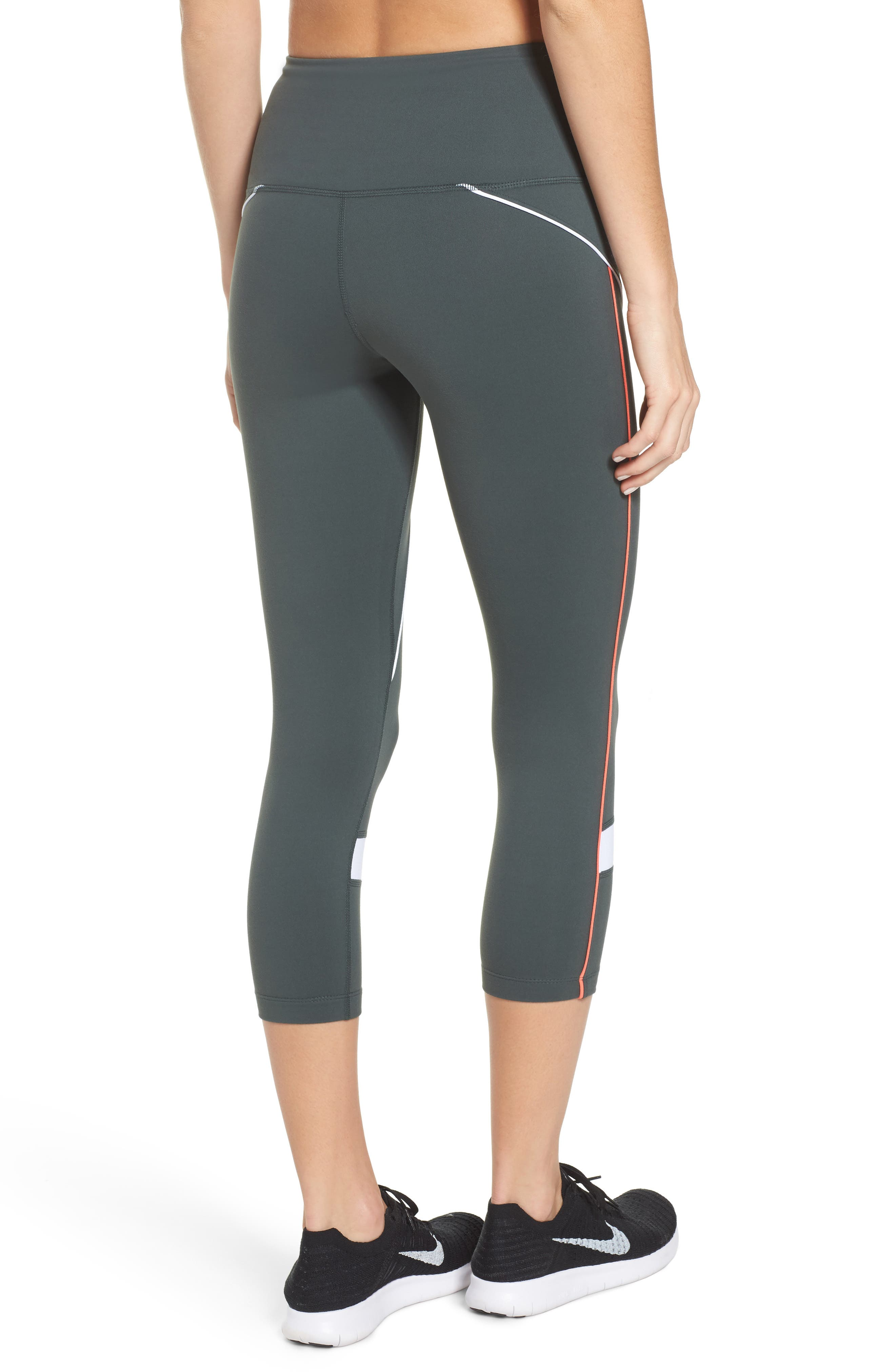 Piper High Waist Crop Leggings,                             Alternate thumbnail 2, color,                             021