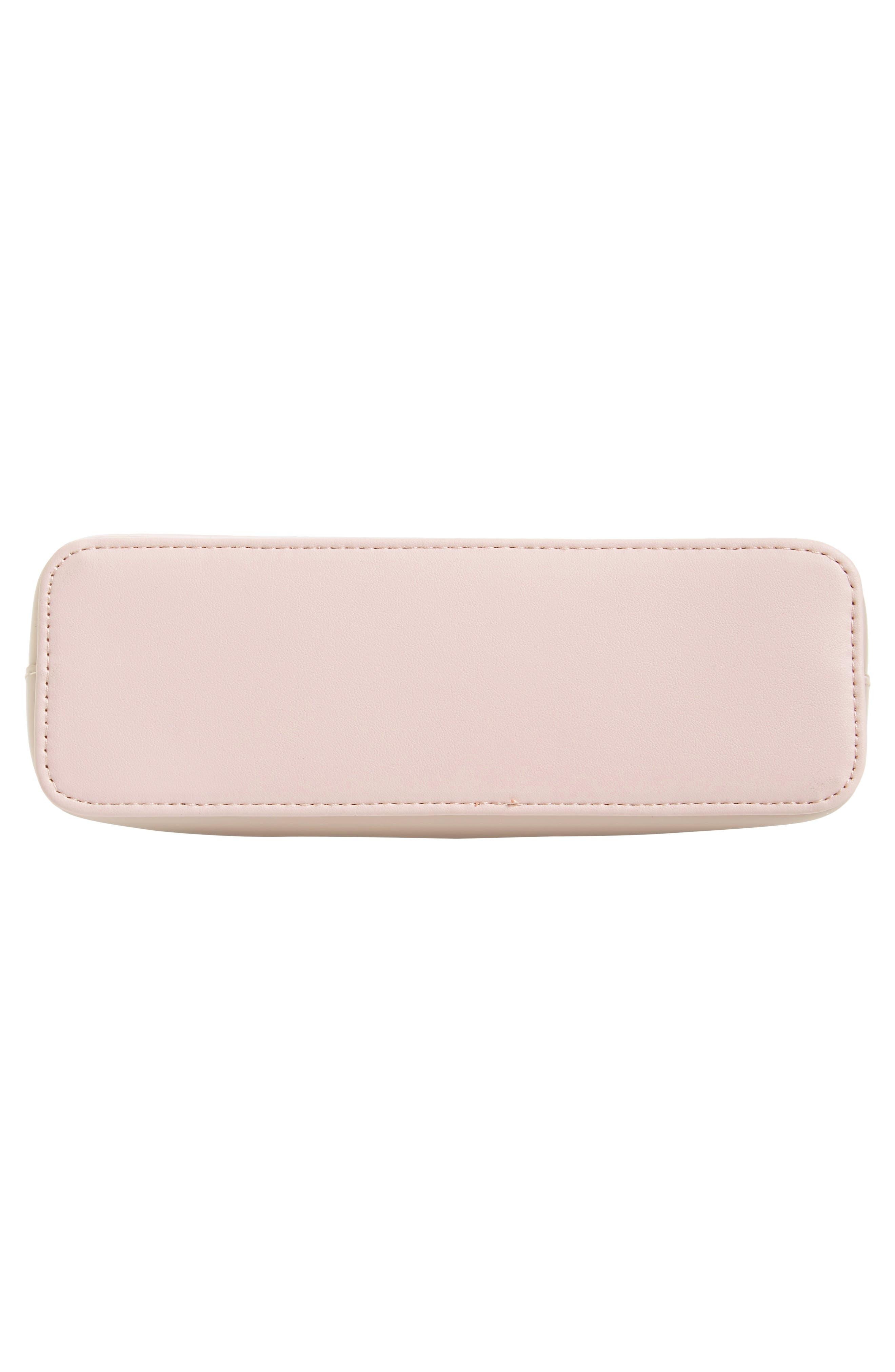 Celest Cosmetics Case & Cardholder Set,                             Alternate thumbnail 5, color,                             GREY